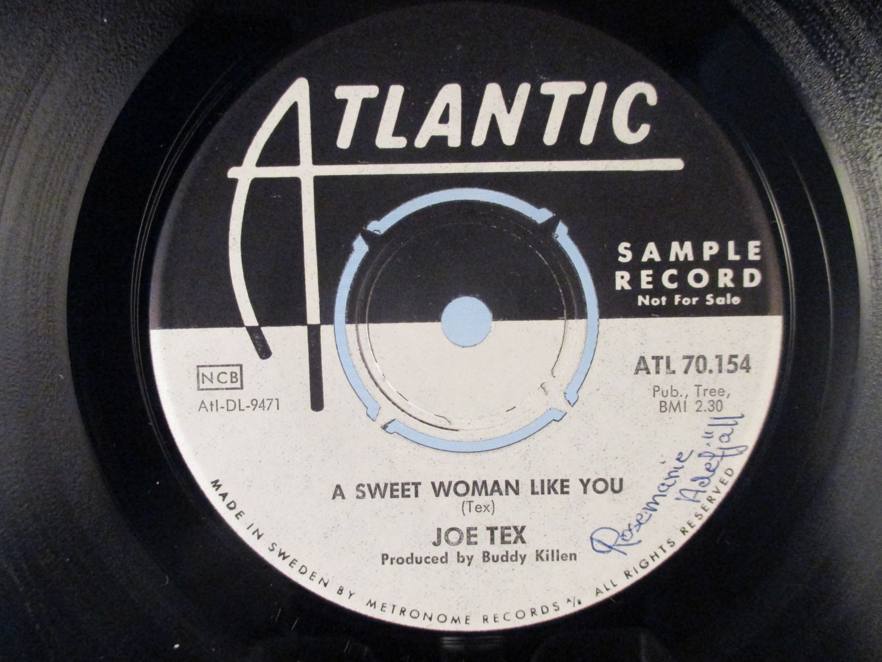 More Views & JOE TEX : A sweet woman like you / Close the door - View all Vinyl ... Pezcame.Com