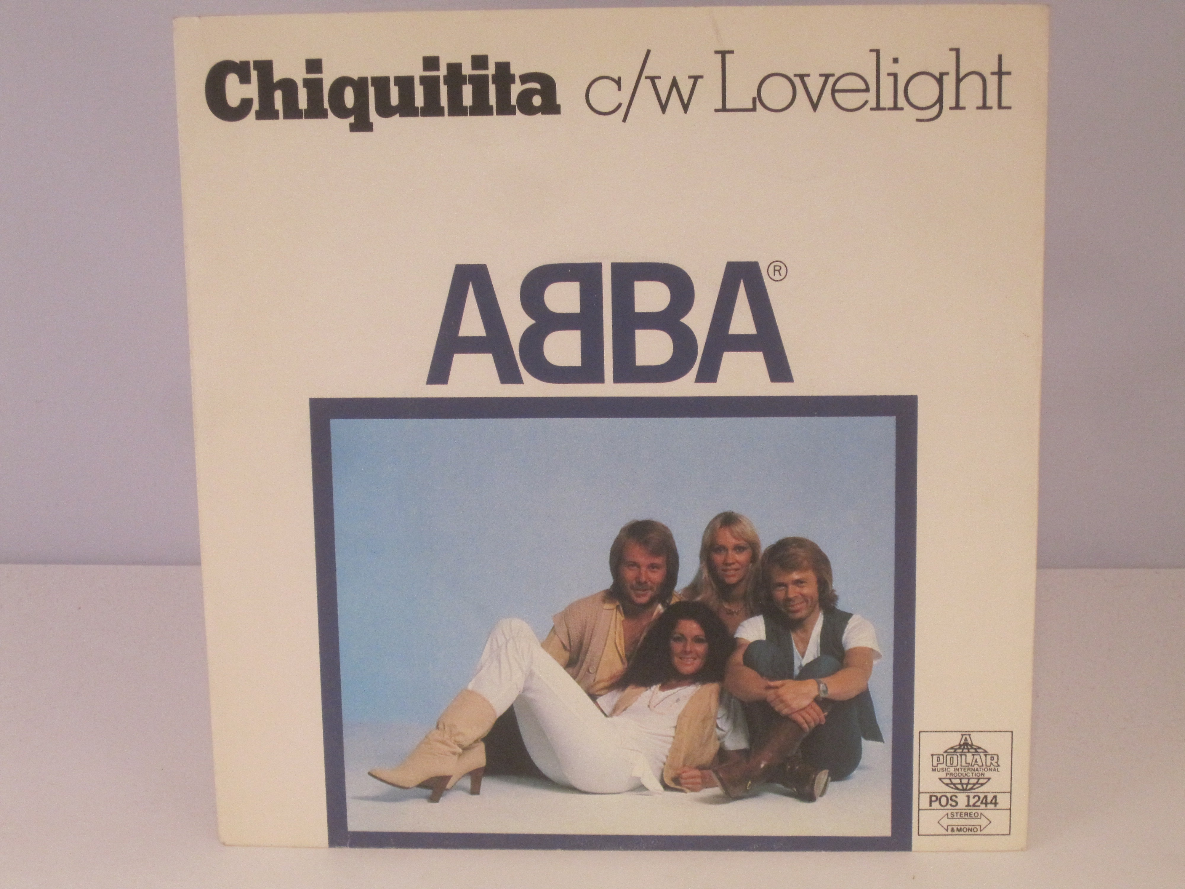 ABBA : Chiquitita / Lovelight
