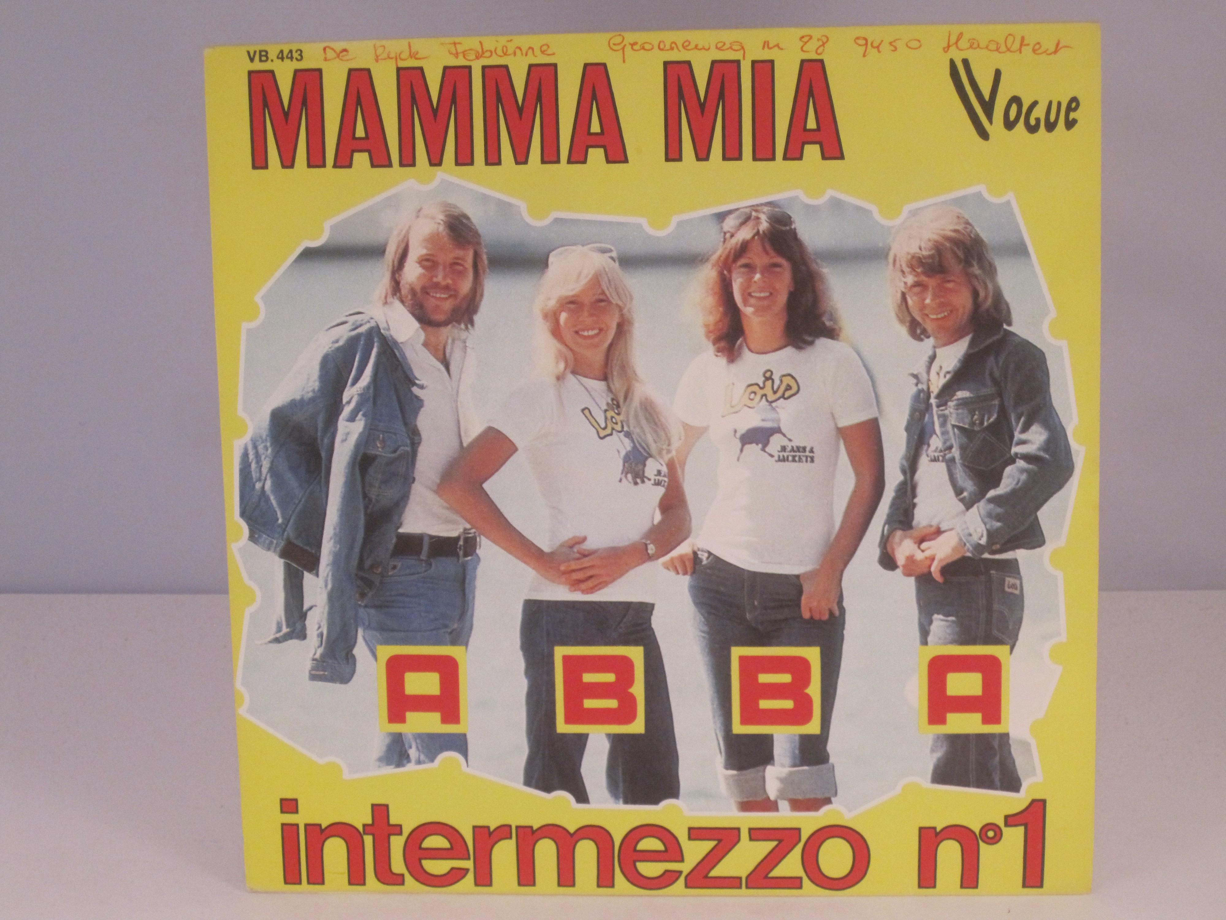ABBA : Mamma mia / Intermezzo No. 1