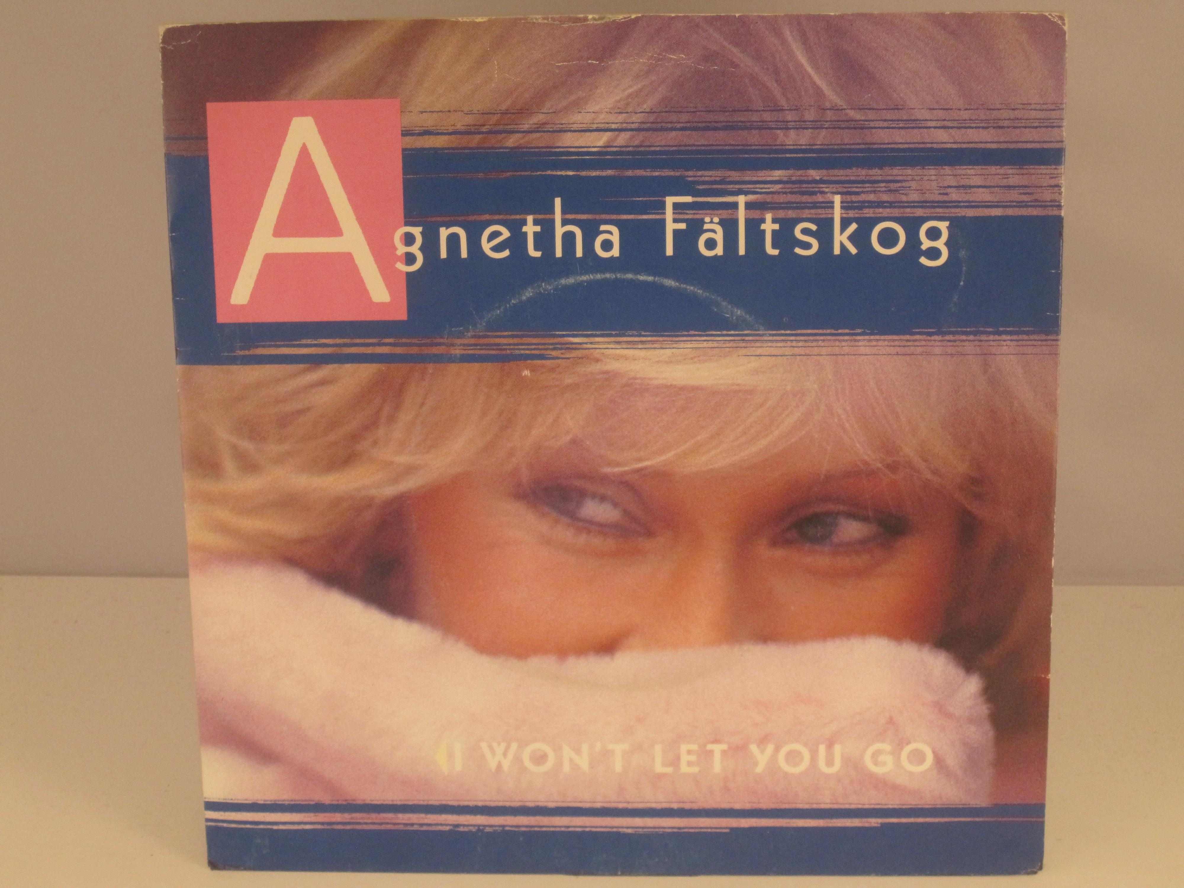 AGNETHA FÄLTSKOG : I won't let you go / You're there