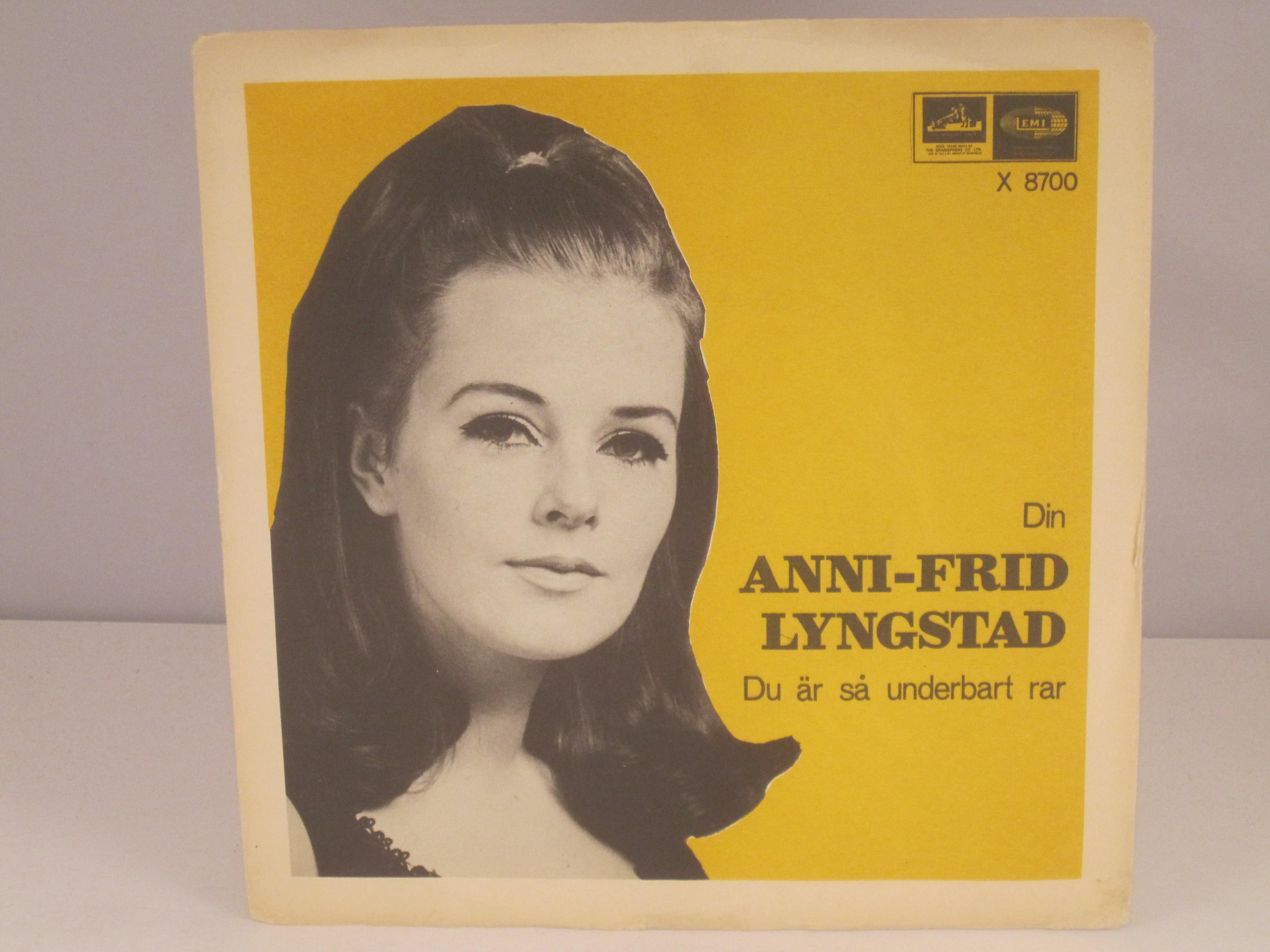 ANNI-FRID LYNGSTAD : Din / Du är så underbart rar