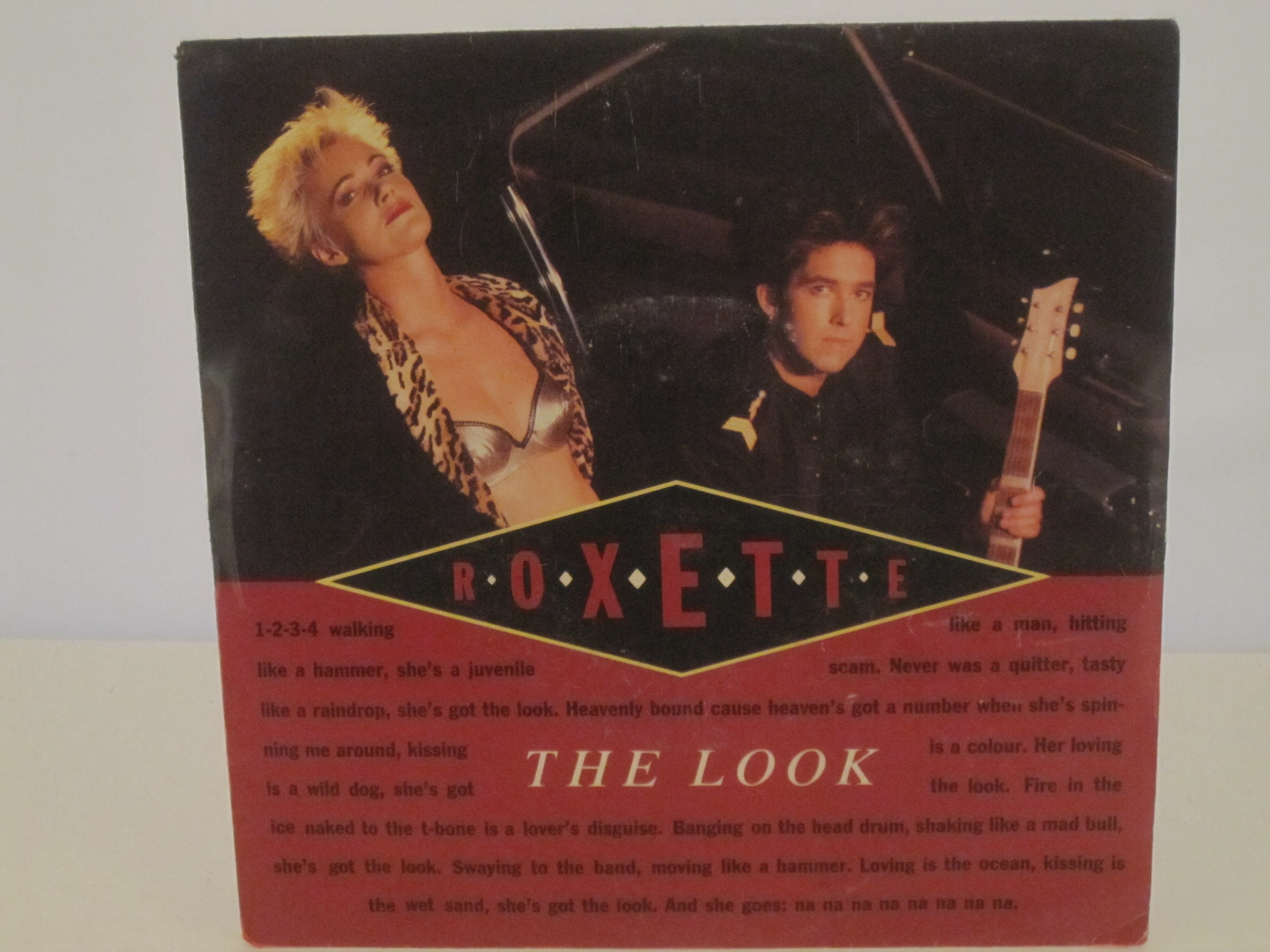 ROXETTE : The look / Silver blue
