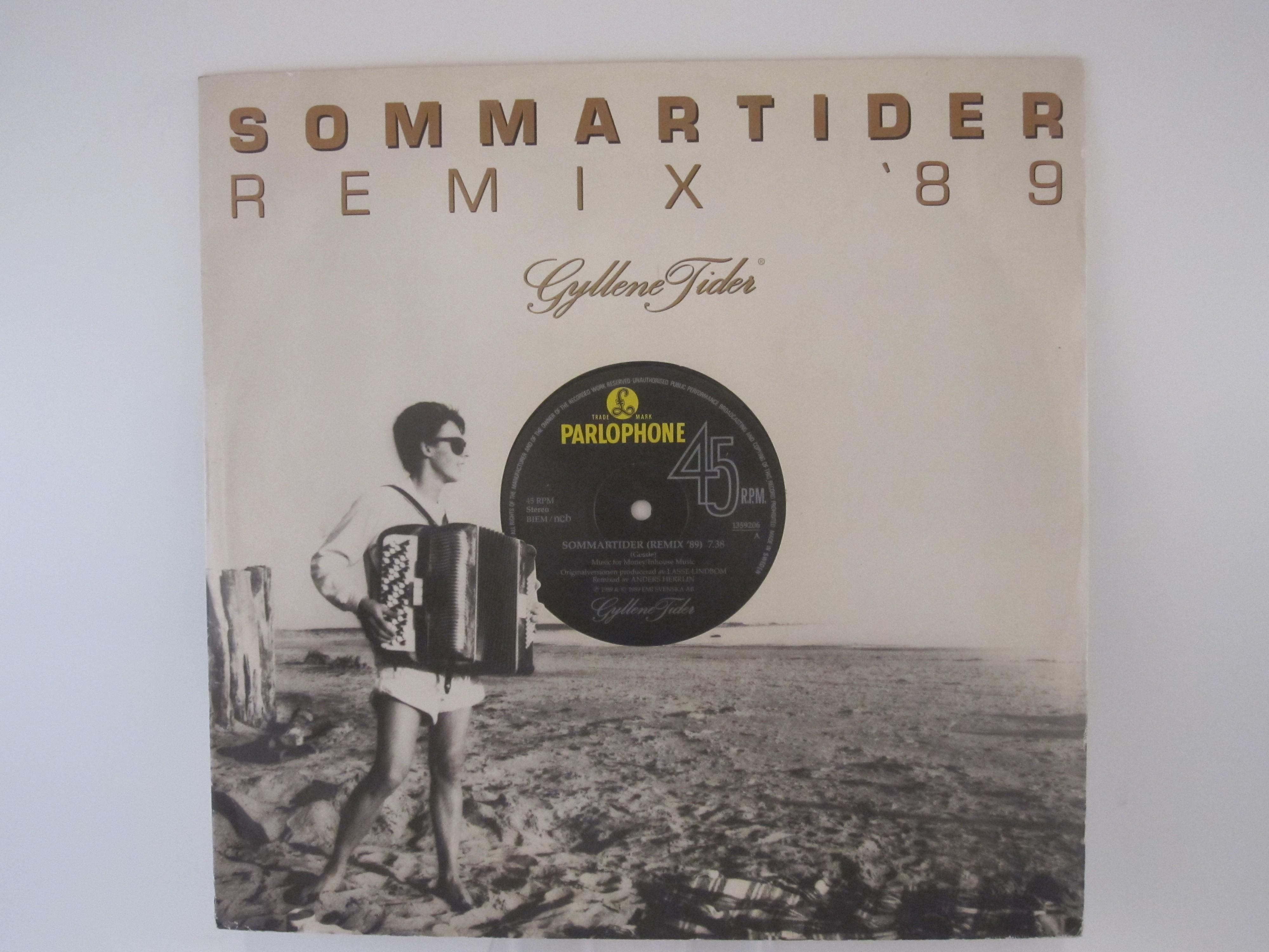 GYLLENE TIDER : EP : Sommartider (Remix) / Sommartider / Tylö Sun / Vart tog alla vänner vägen?