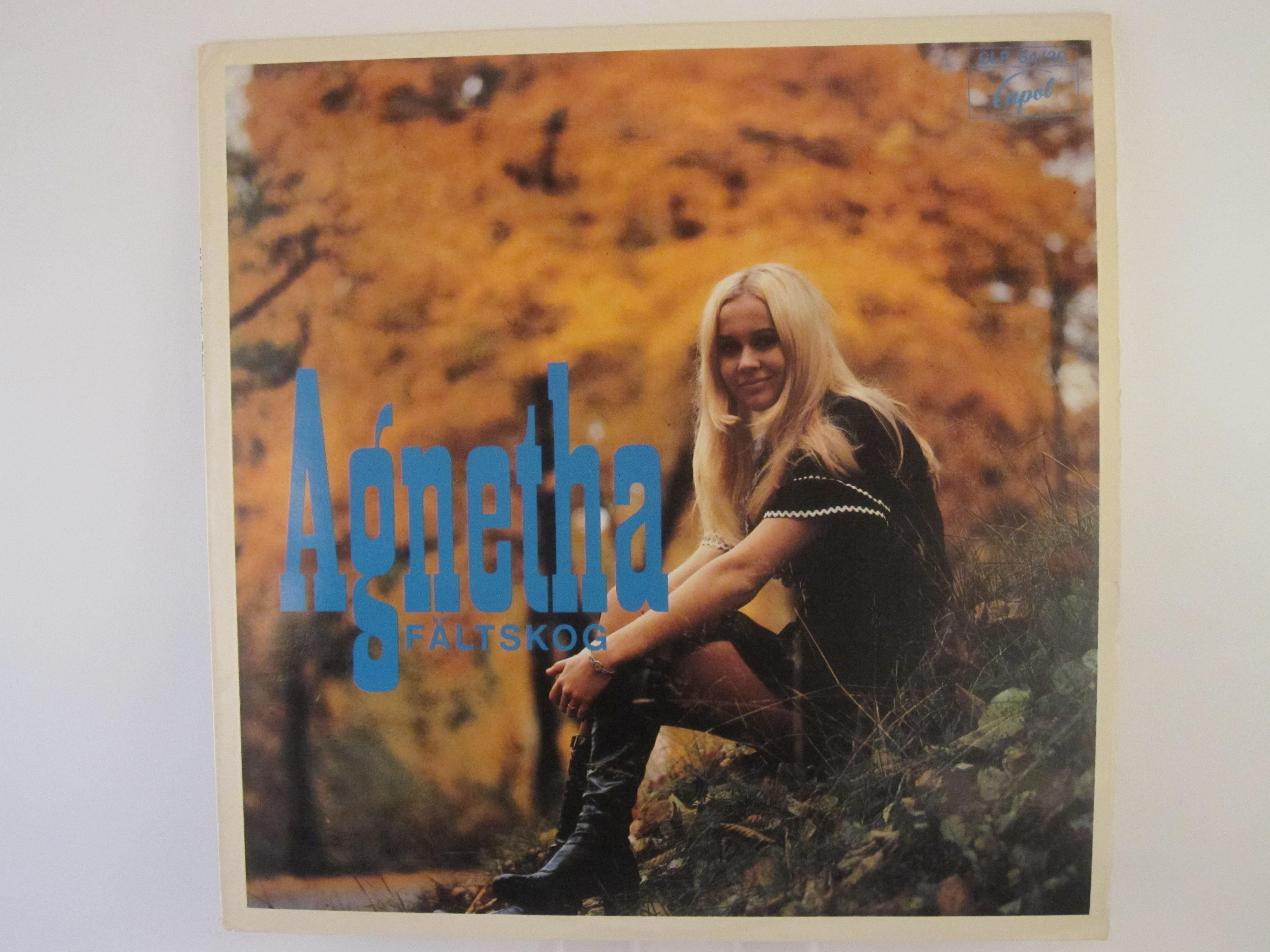 """AGNETHA FÄLTSKOG : """"Agnetha Fältskog"""""""