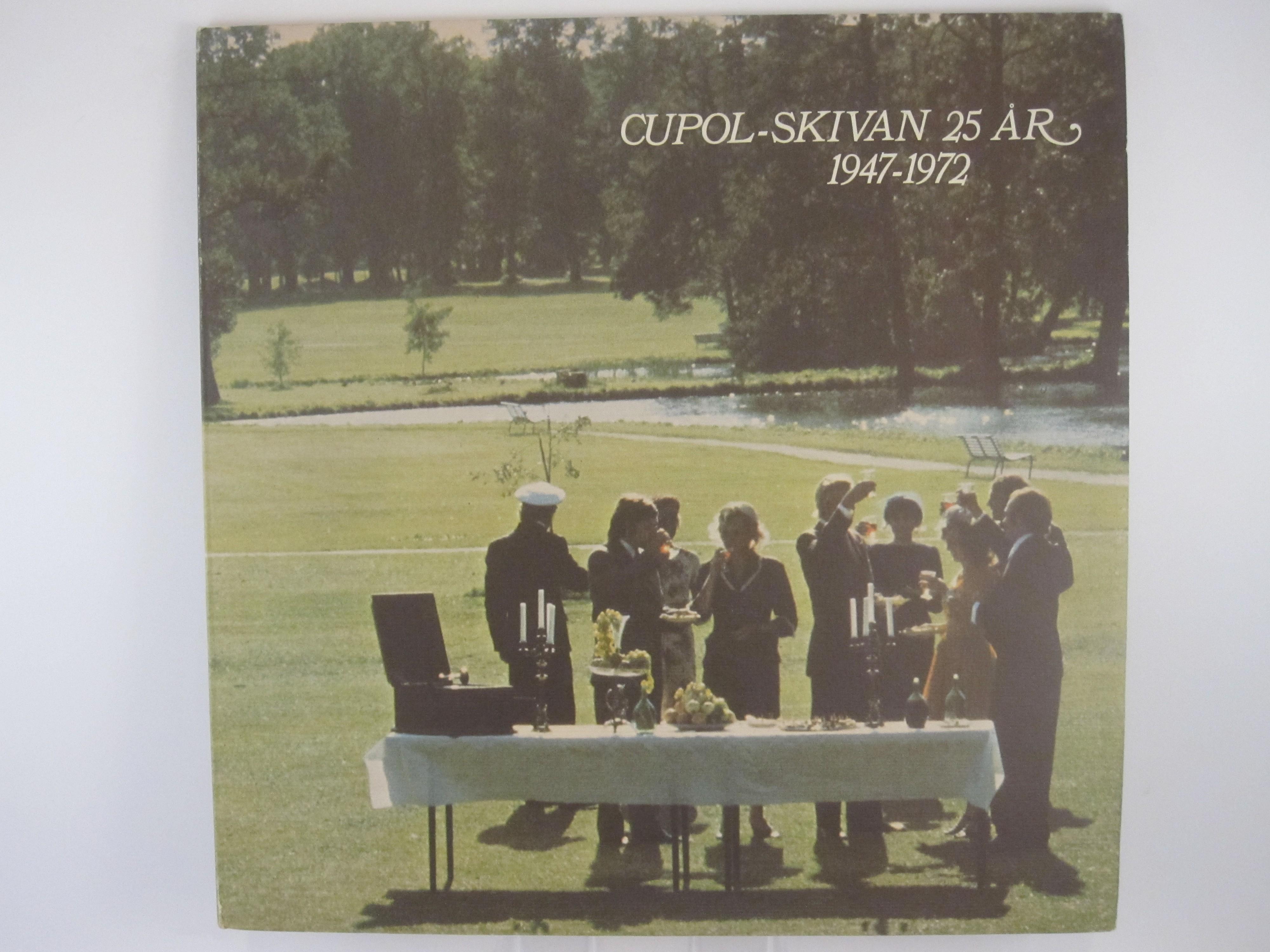 Cupol-skivan 25 år 1947-72 : AGNETHA FÄLTSKOG + other artists