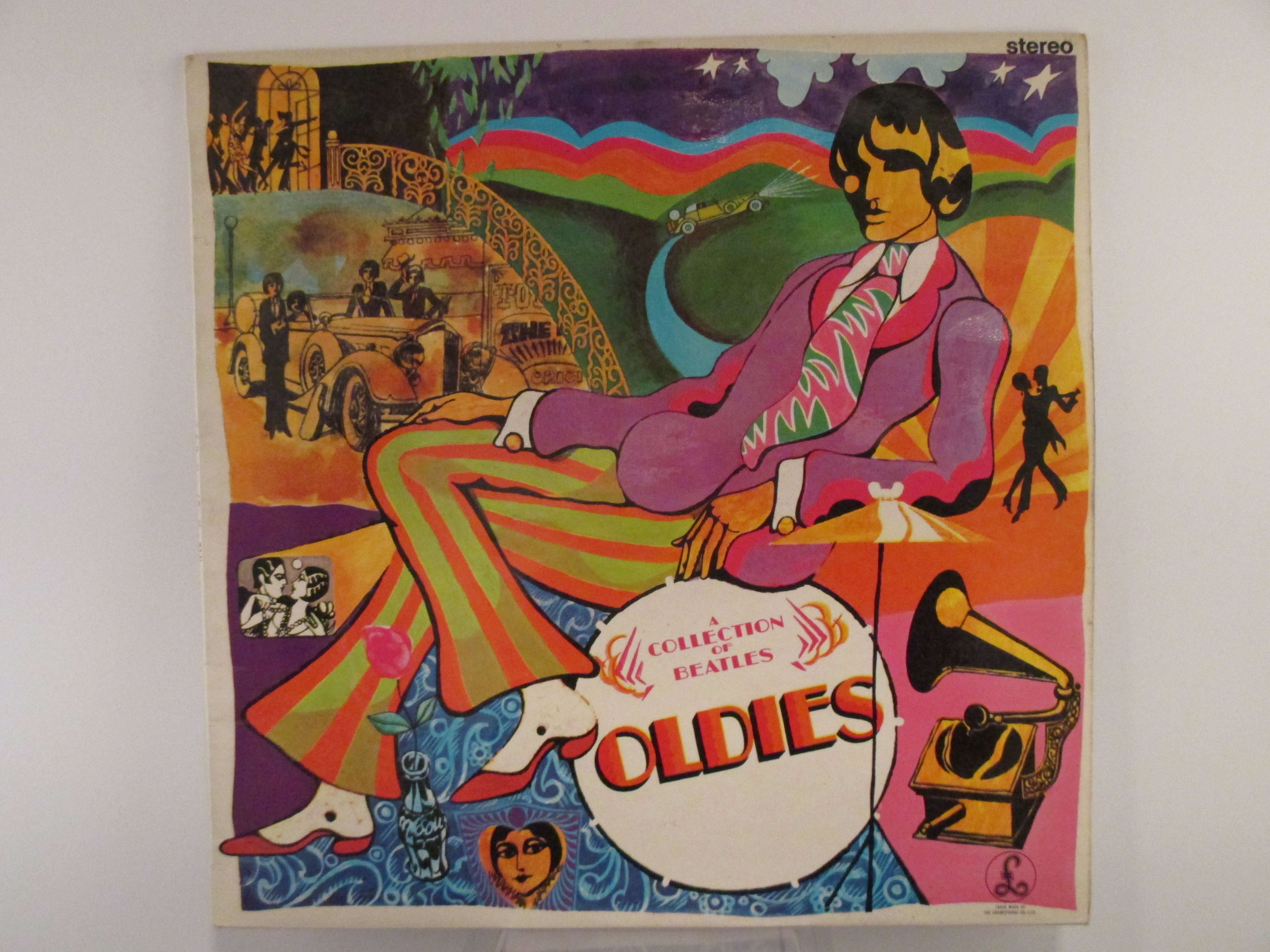 "BEATLES   The   : ""A collection of Beatles oldies"""