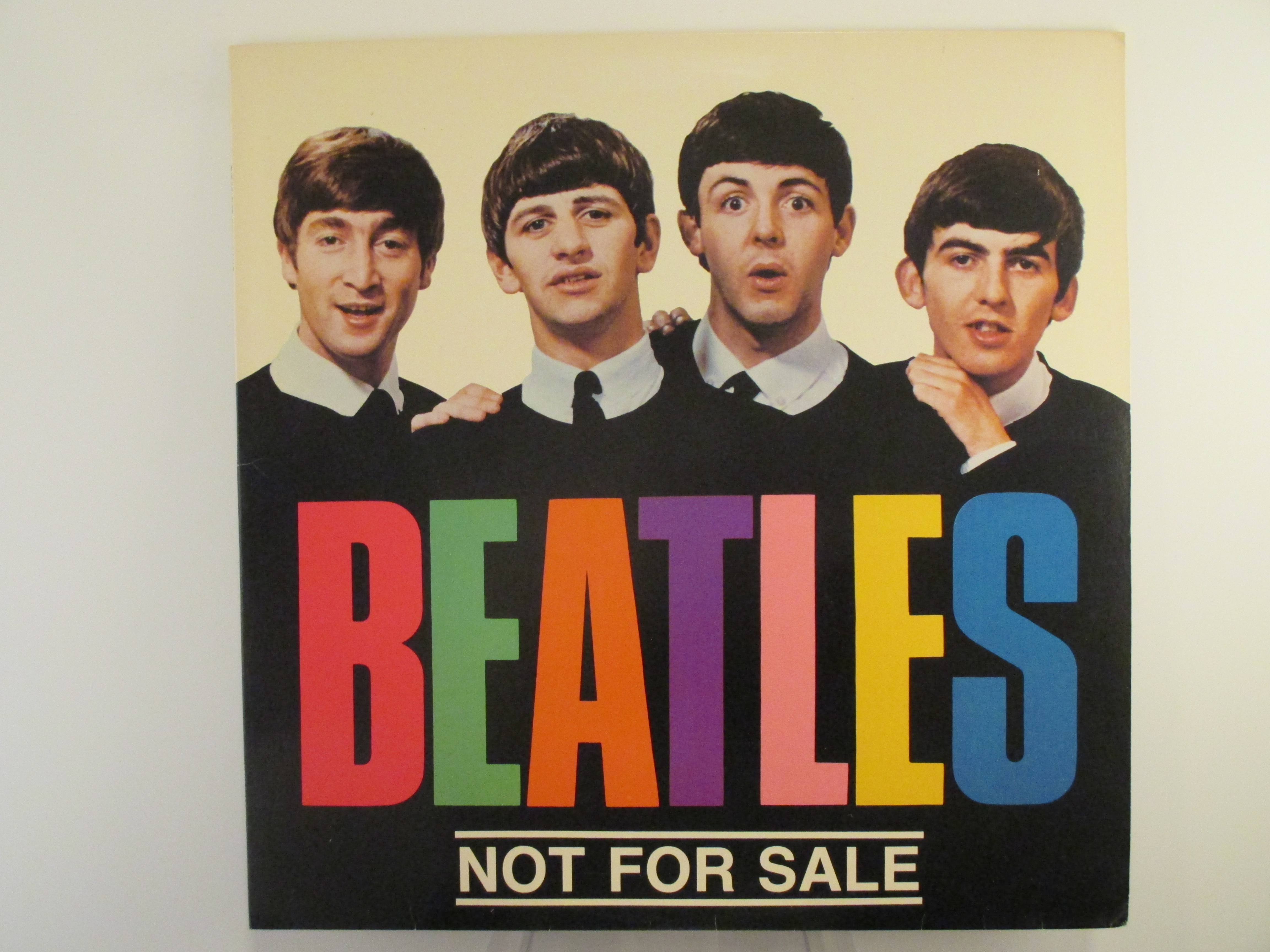 """BEATLES   The  : """"Not for sale"""""""