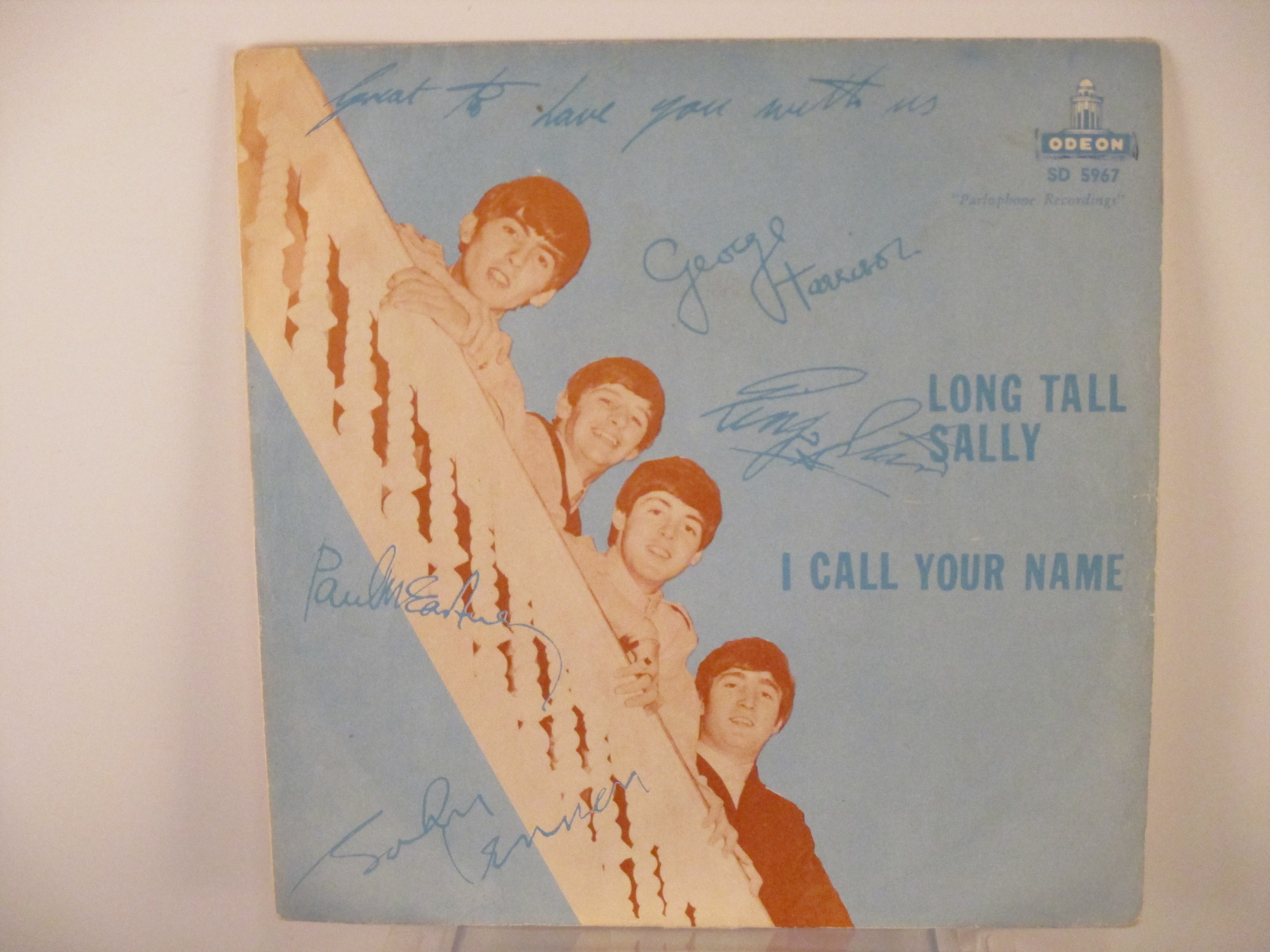 BEATLES  The  : Long tall Sally / I call your name