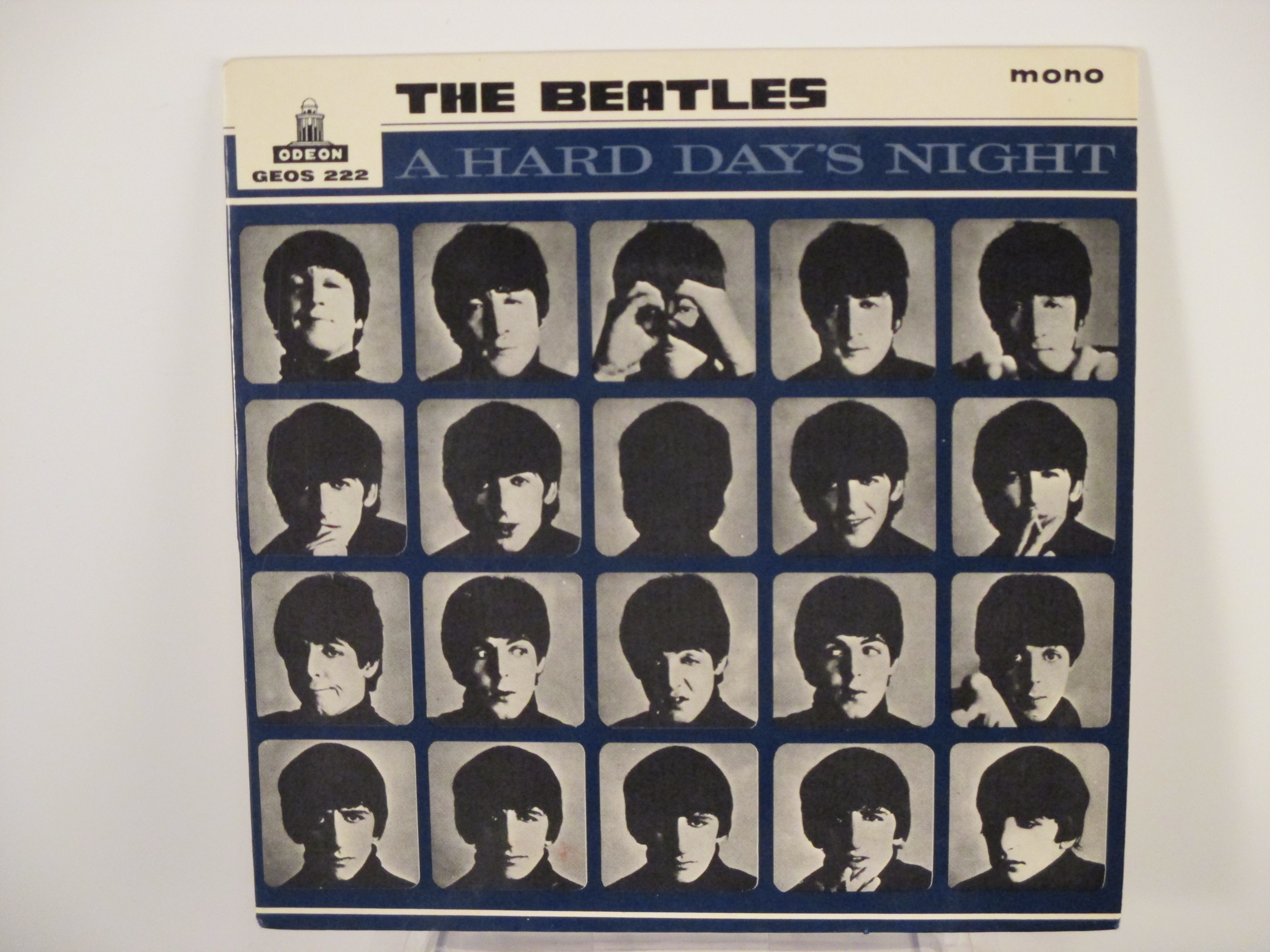 "BEATLES    The    : (EP) ""A hard day's night"" Title / Not a second time / Things we said today / Little child"