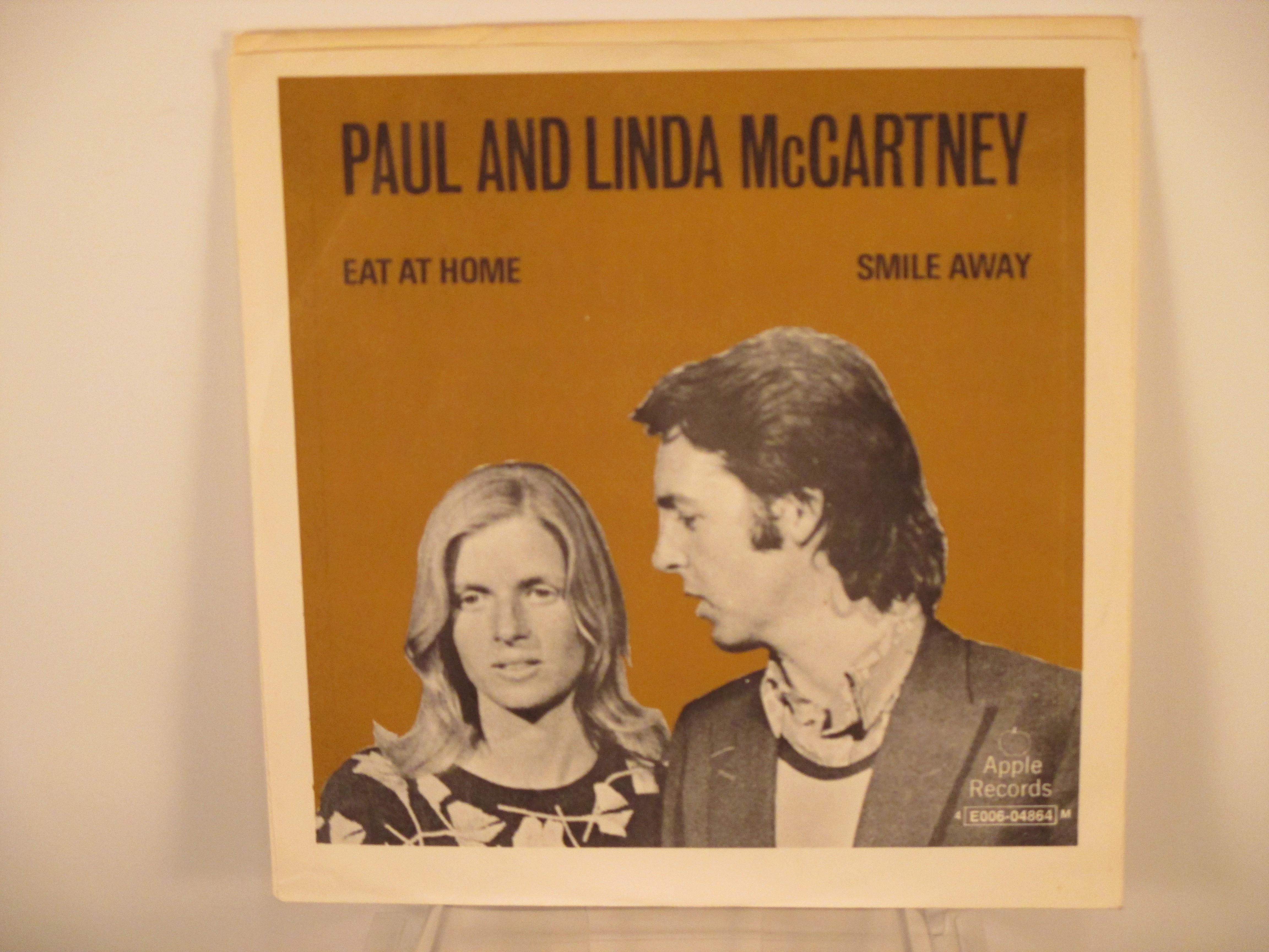 PAUL McCARTNEY : Eat at home / Smile away