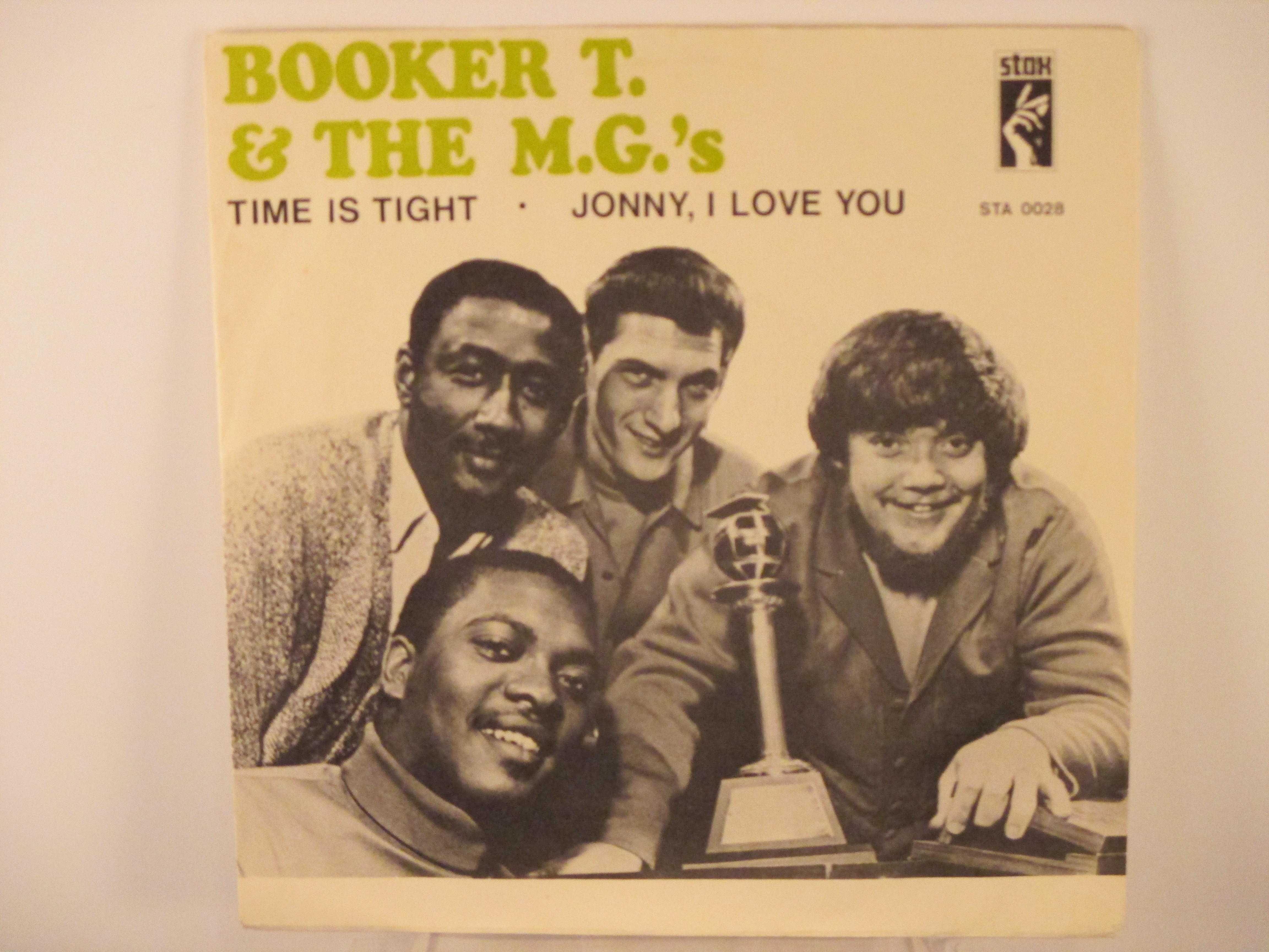 BOOKER T & MG's : Time is tight / Johnny, I love you