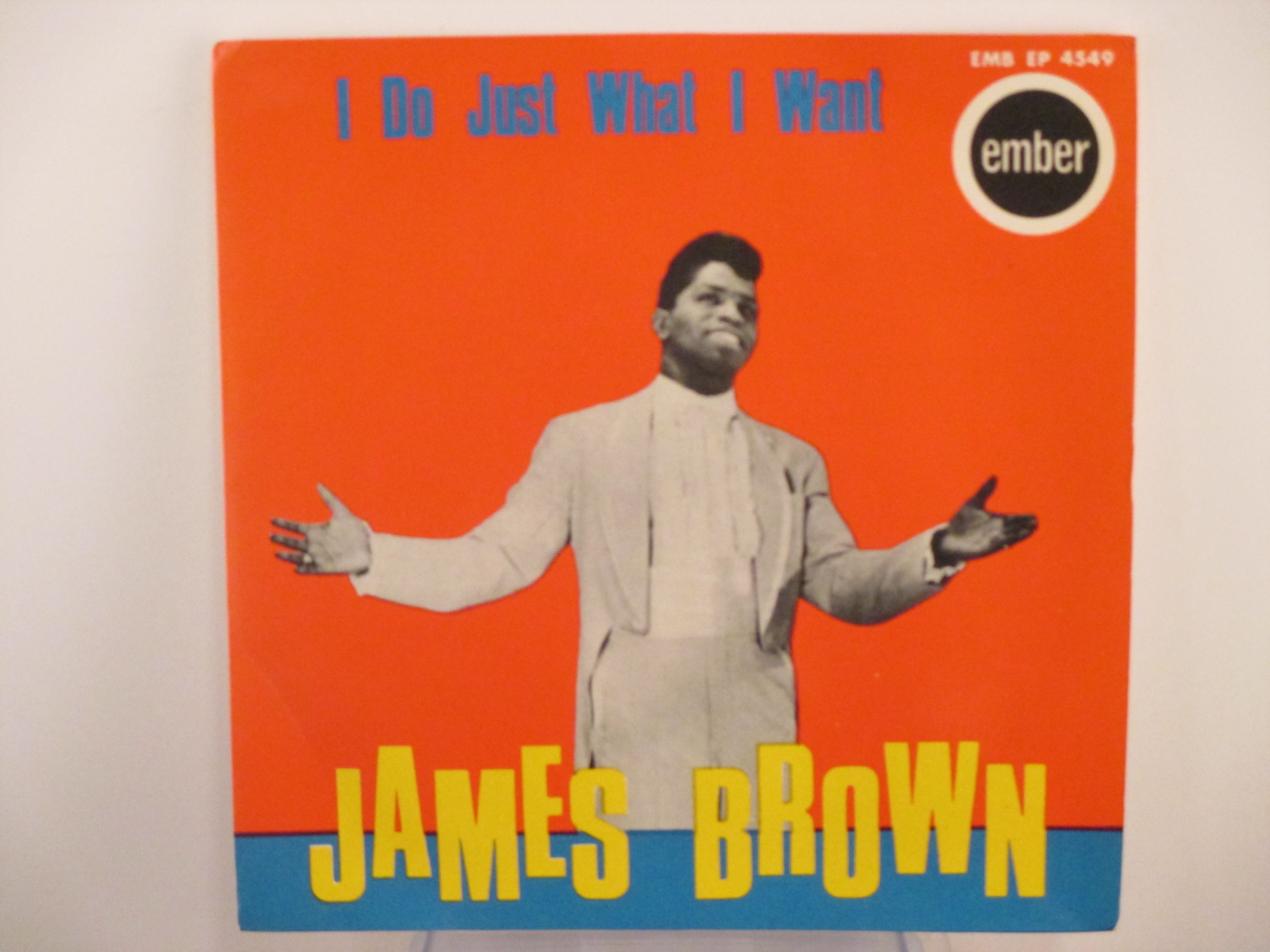 """JAMES BROWN : (EP)  """"I do just what I want """"  : Title / So long / The bells / I love you, yes I do"""