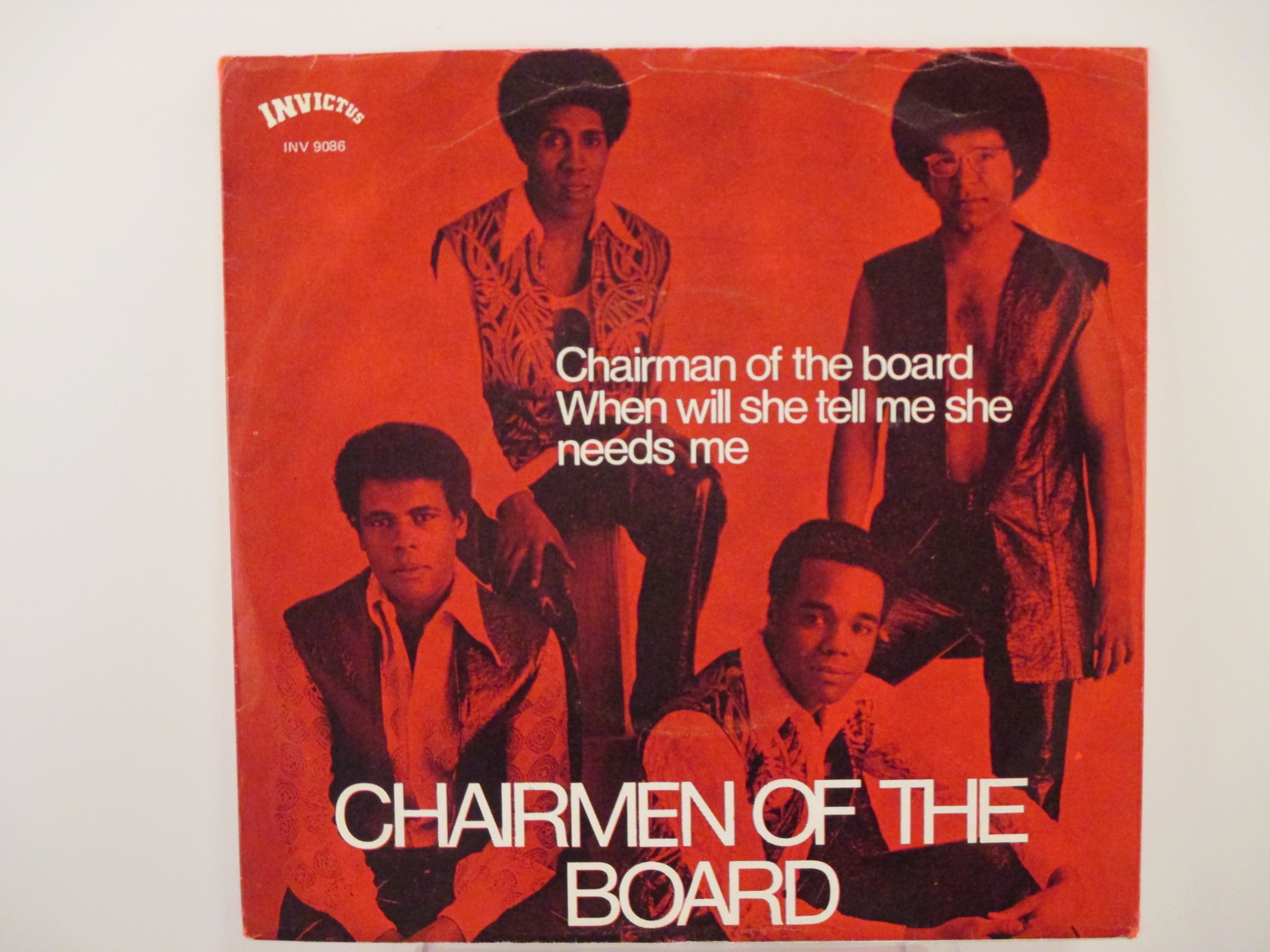 CHAIRMEN OF THE BOARD : Chairman of the board / When will she tell me she needs me