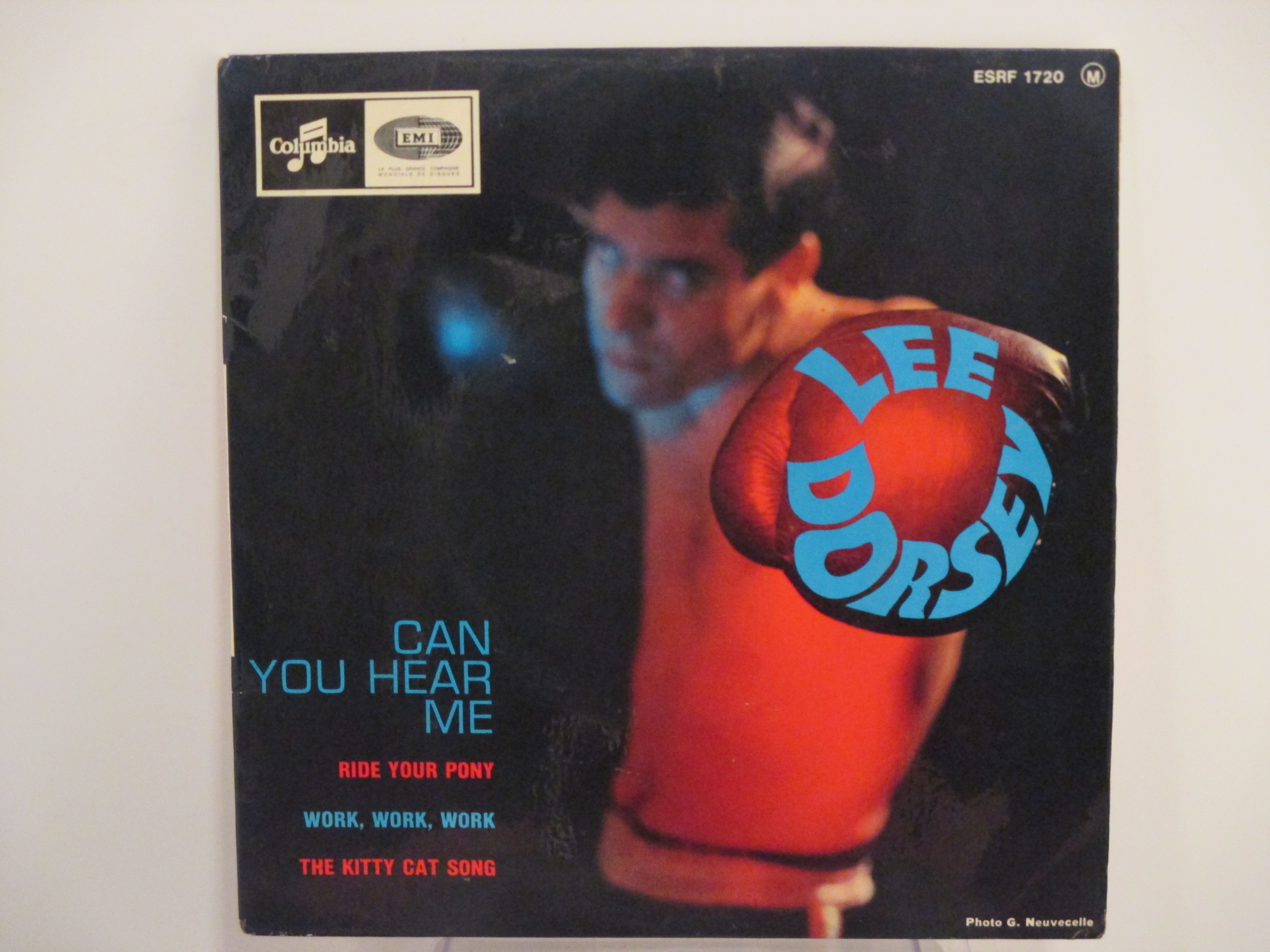 LEE DORSEY : (EP) Ride your pony / Can you hear me / Work, work, work / The kitty cat song