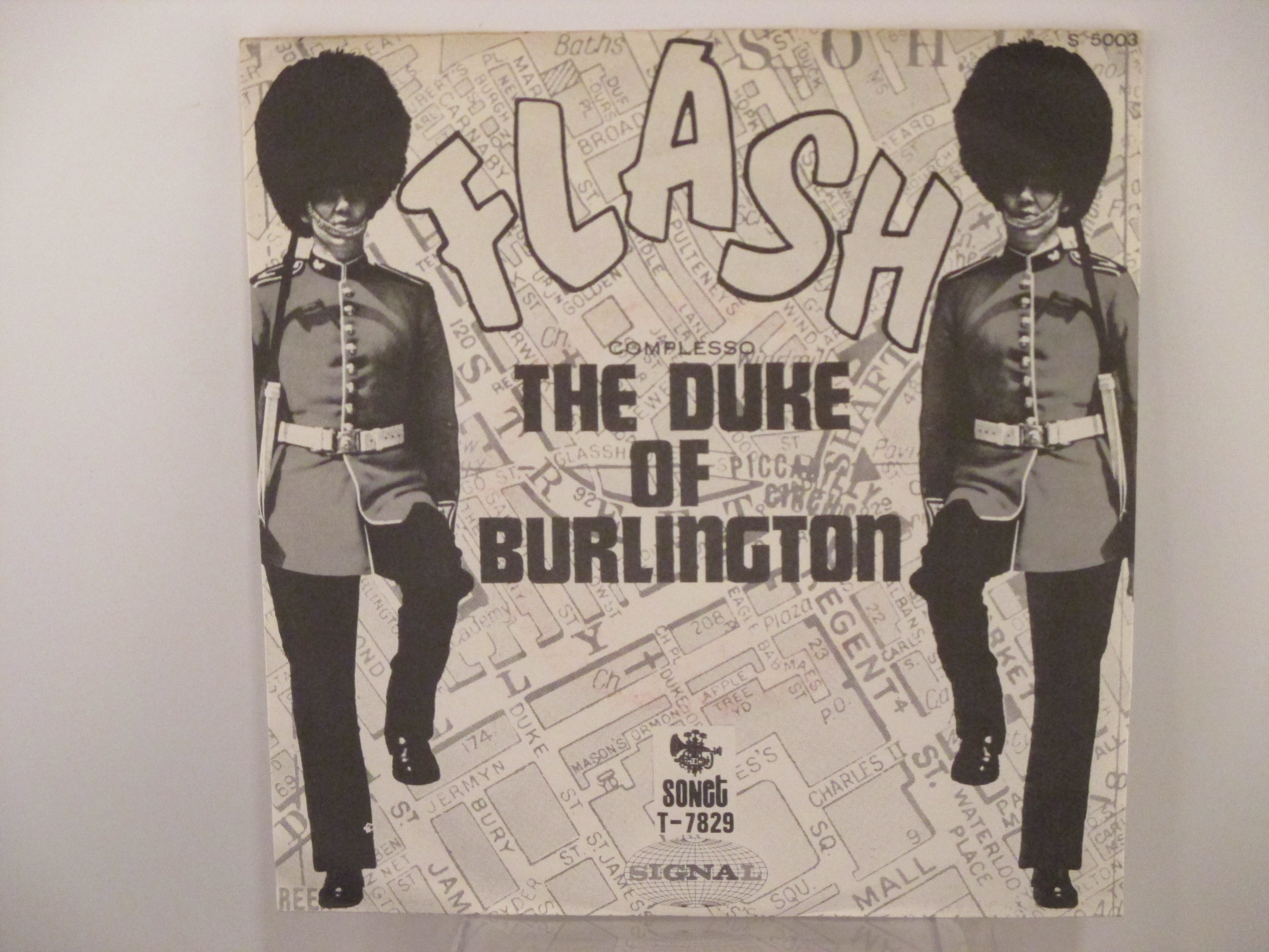 DUKE OF BURLINGTON: Flash / Lily the pink