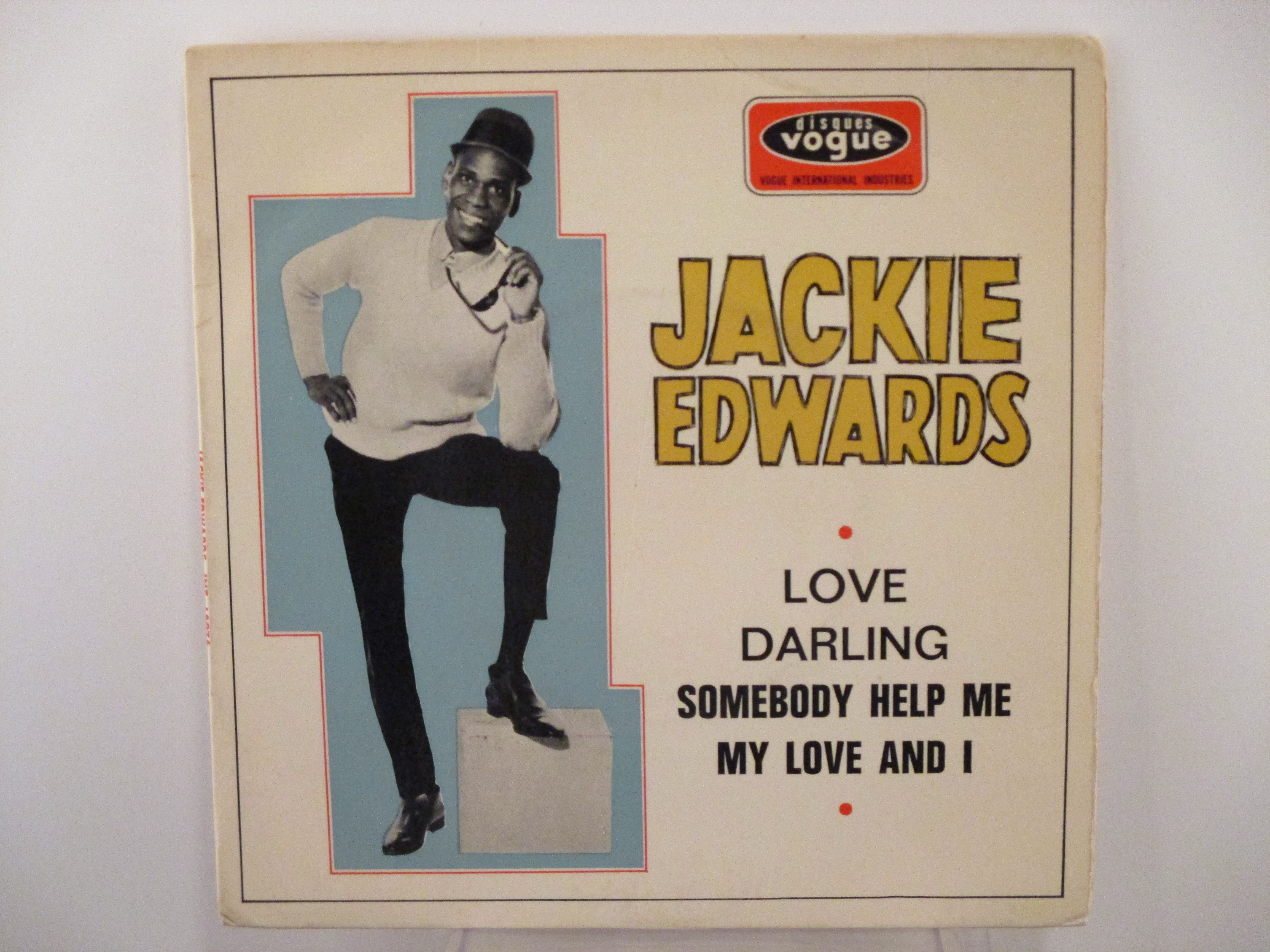 JACKIE EDWARDS : (EP) Somebody help me / My love and I / Love / Darling