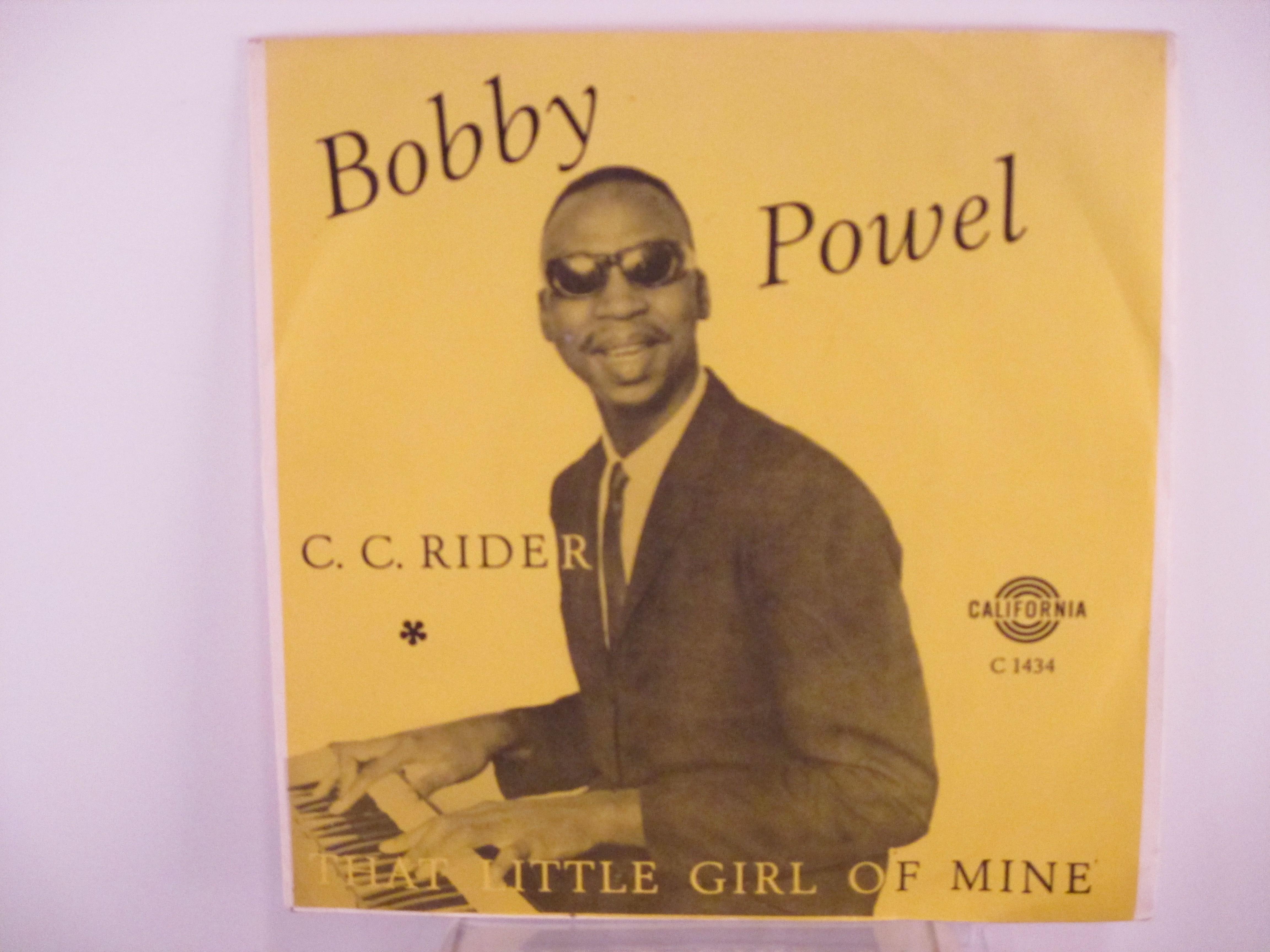 BOBBY POWEL :  That little girl of mine / C C rider