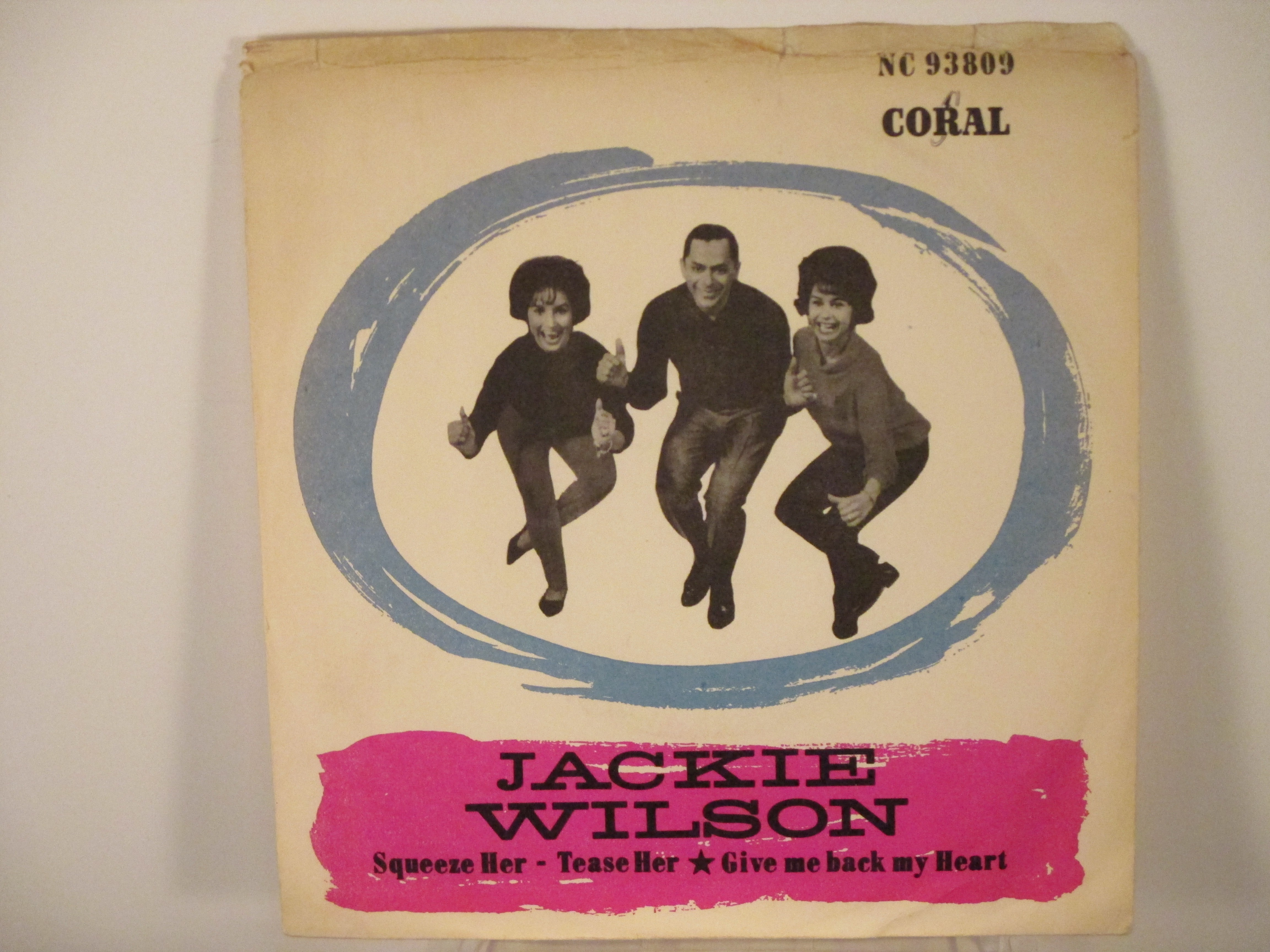 JACKIE WILSON : Squeeze her - tease her / Give me back my heart