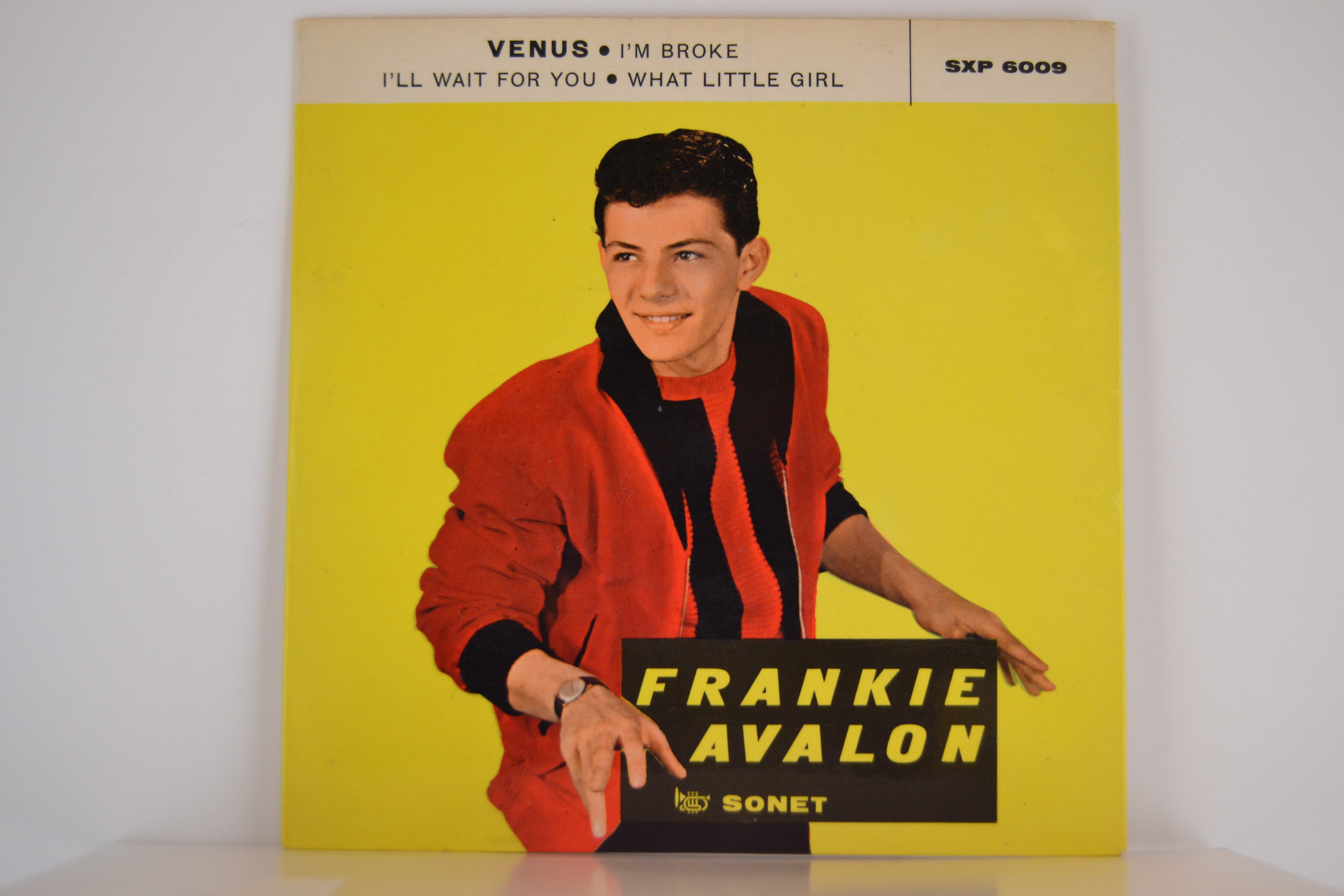 Frankie Avalon Pics with frankie avalon : (ep) venus / i'm broke / i'll wait for you / what