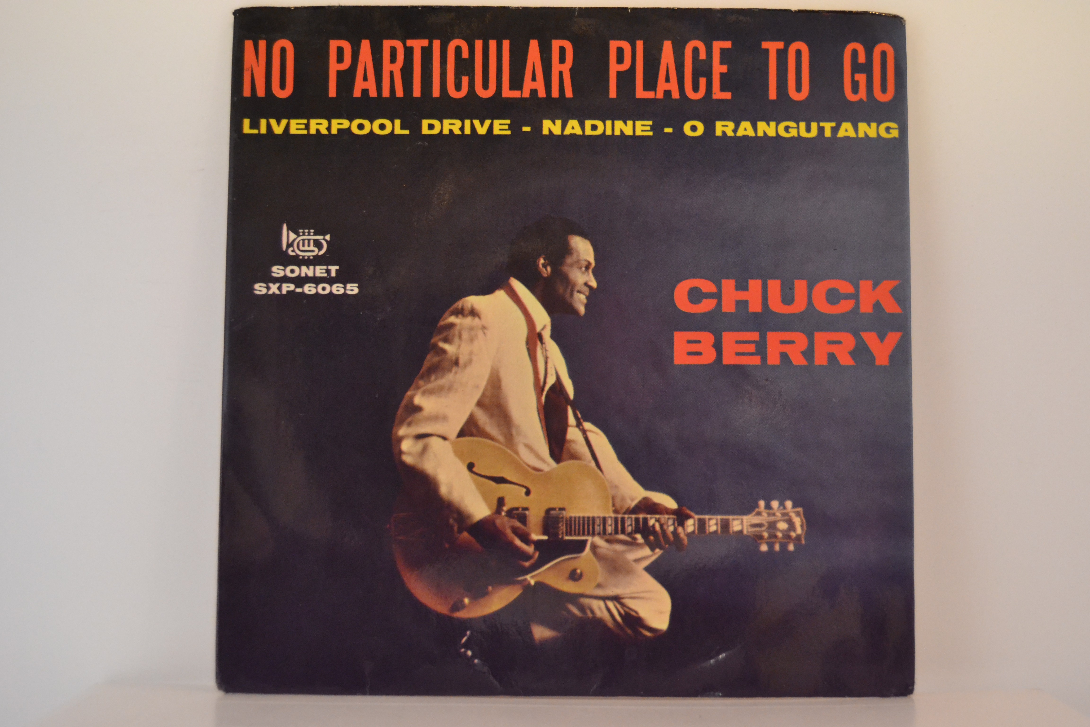 CHUCK BERRY : (EP) No particular place to go / Liverpool drive / Nadine / O rangutang