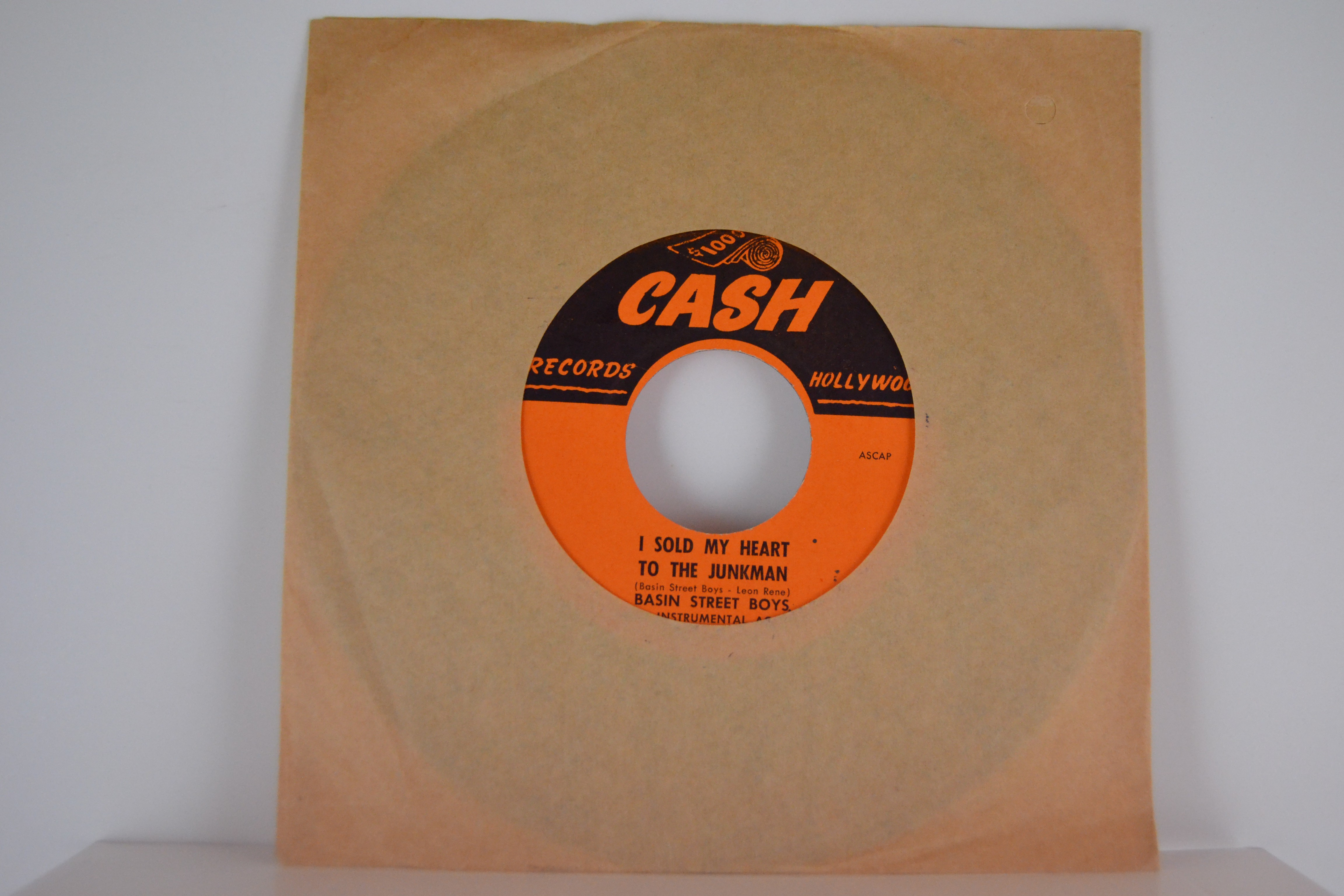 CHARLES BROWN : Lost in the night  /  BASIN STREET BOYS : I sold my heart to the junkman