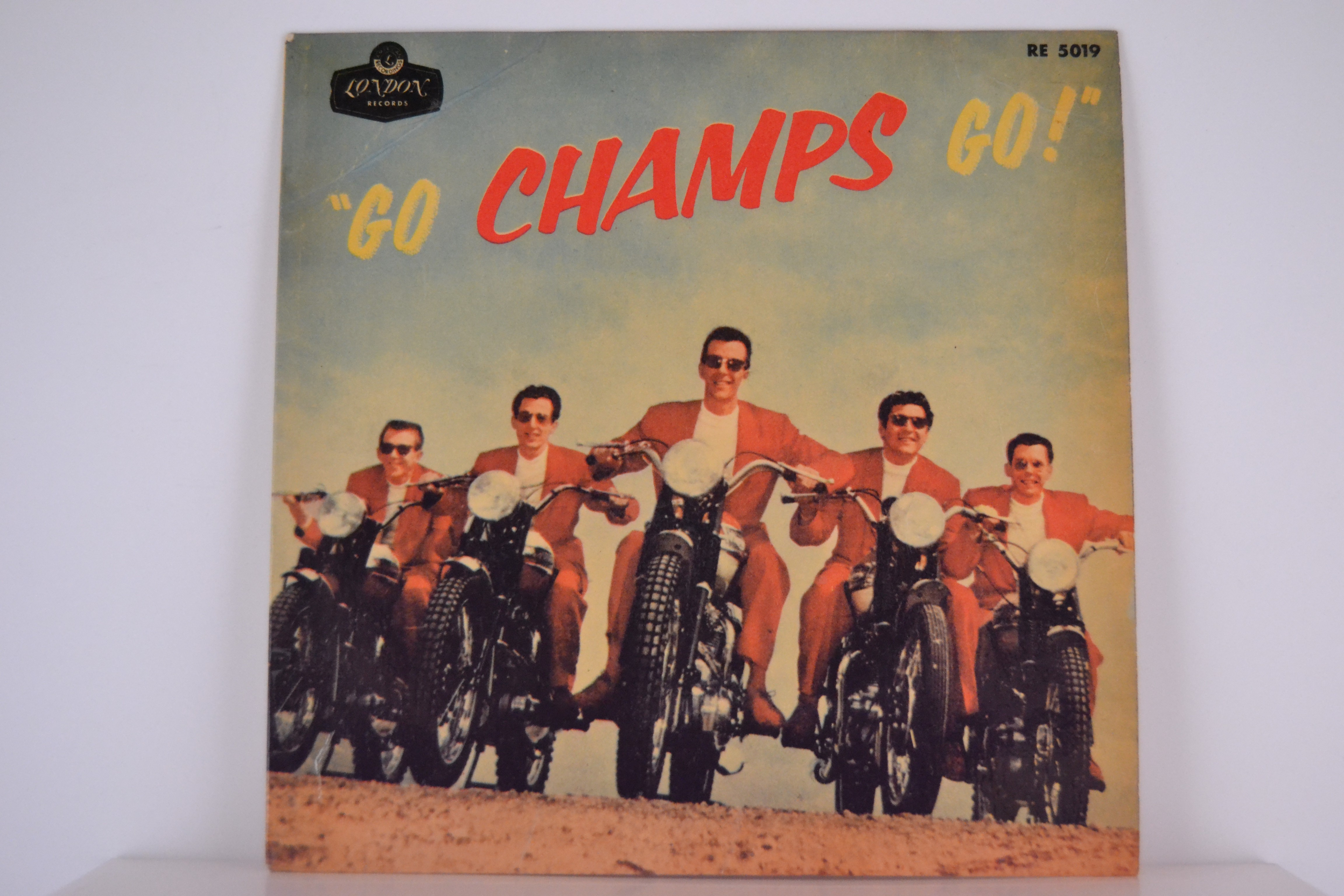 CHAMPS : (EP) Tequila / Train to nowhere / El rancho rock / Midnighter