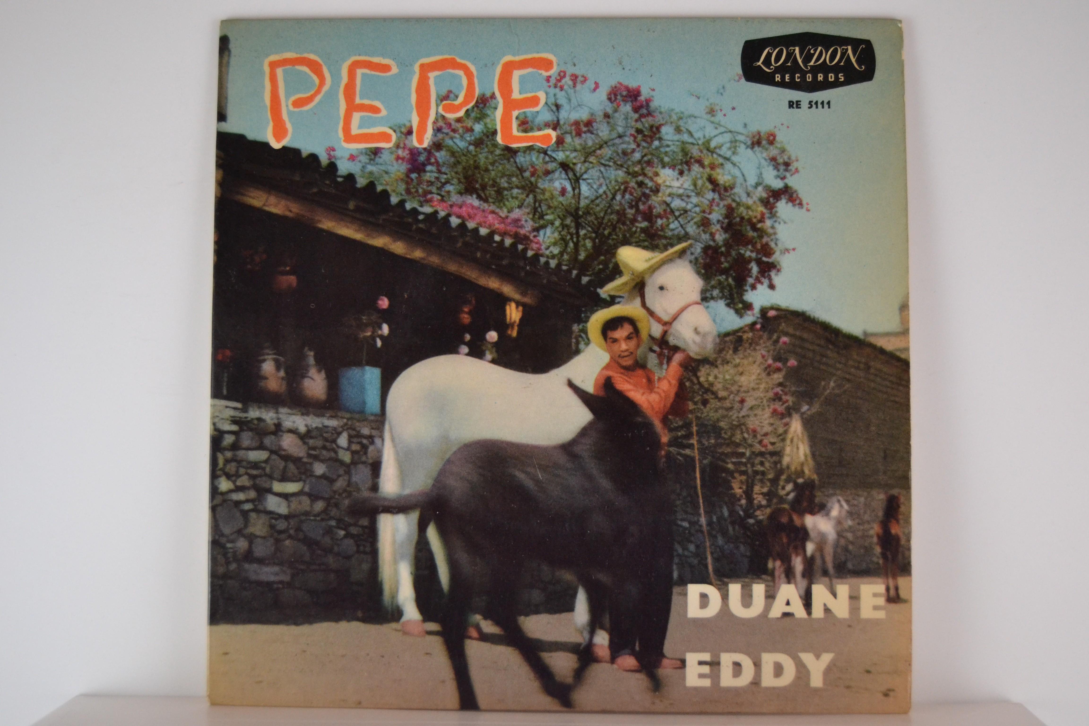 DUANE EDDY : (EP) Pepe / Lost friend / Night train to Memphis / Trambone