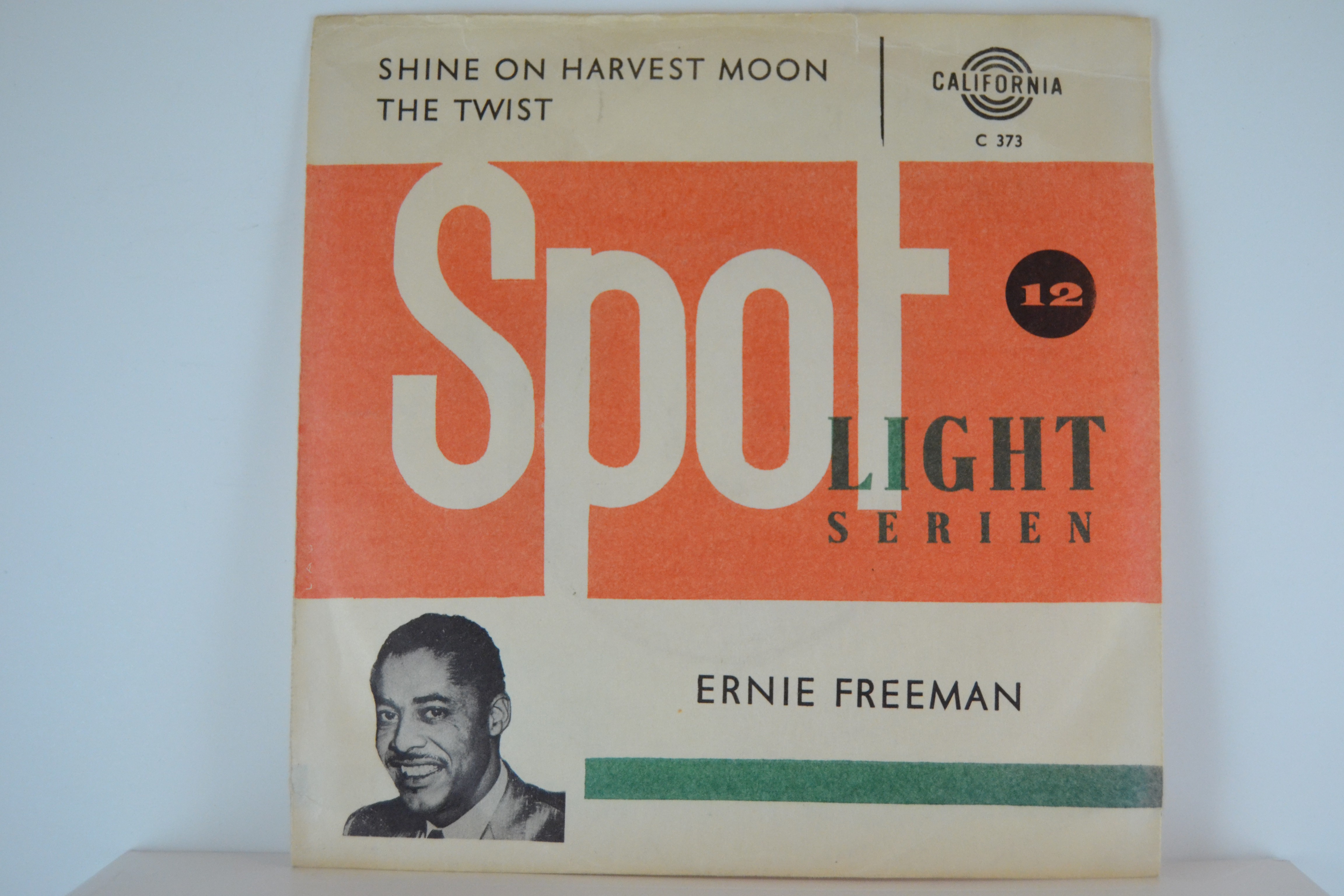 ERNIE FREEMAN : Shine on the harvest moon / The twist