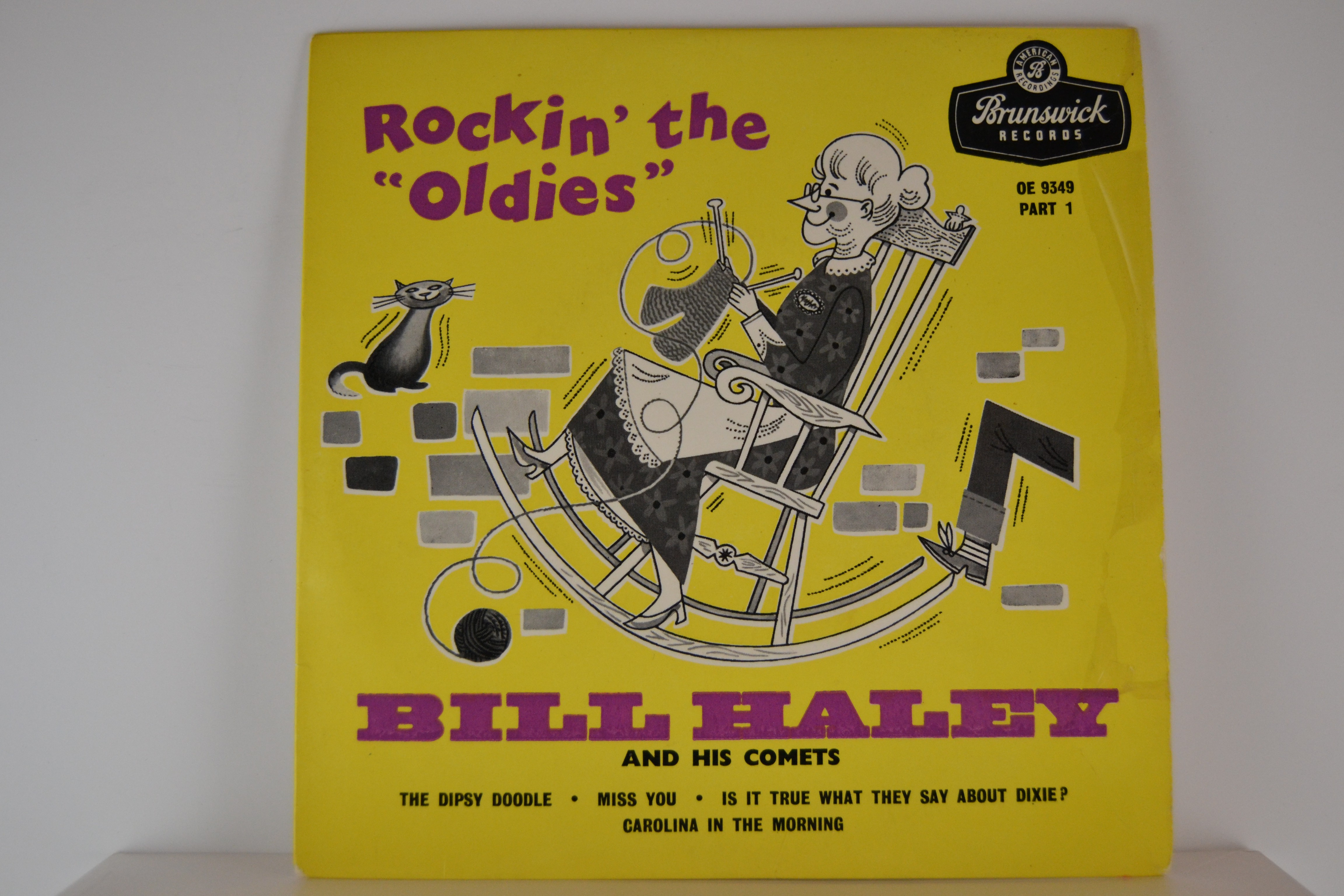 BILL HALEY & COMETS : (EP) The dipsy doodle / Miss you / Is it true what they say about dixie? / Carolina in the morning