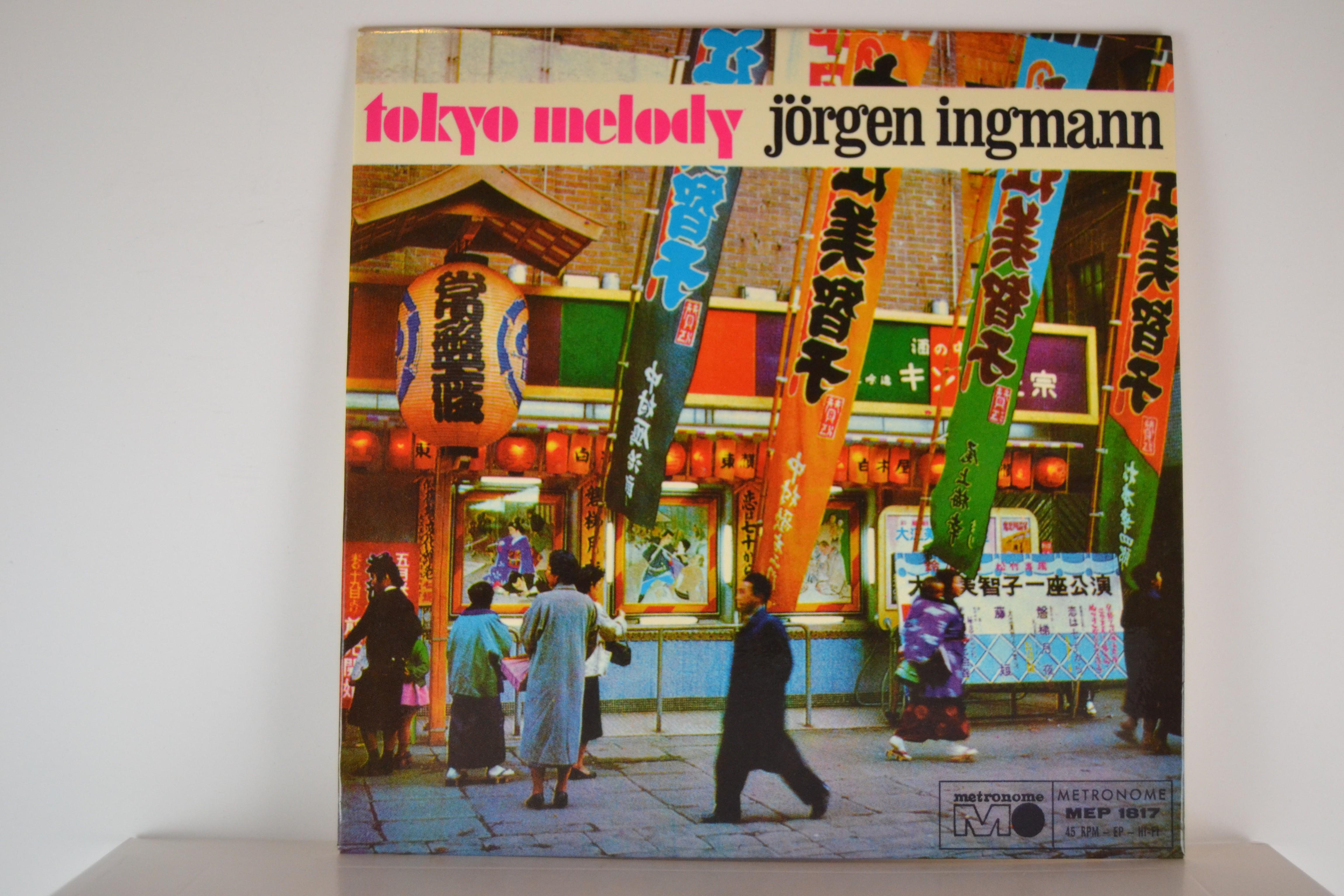 JÖRGEN INGMAN : (EP) Tokyo melody / La mer / Var barmhärtig / Misty
