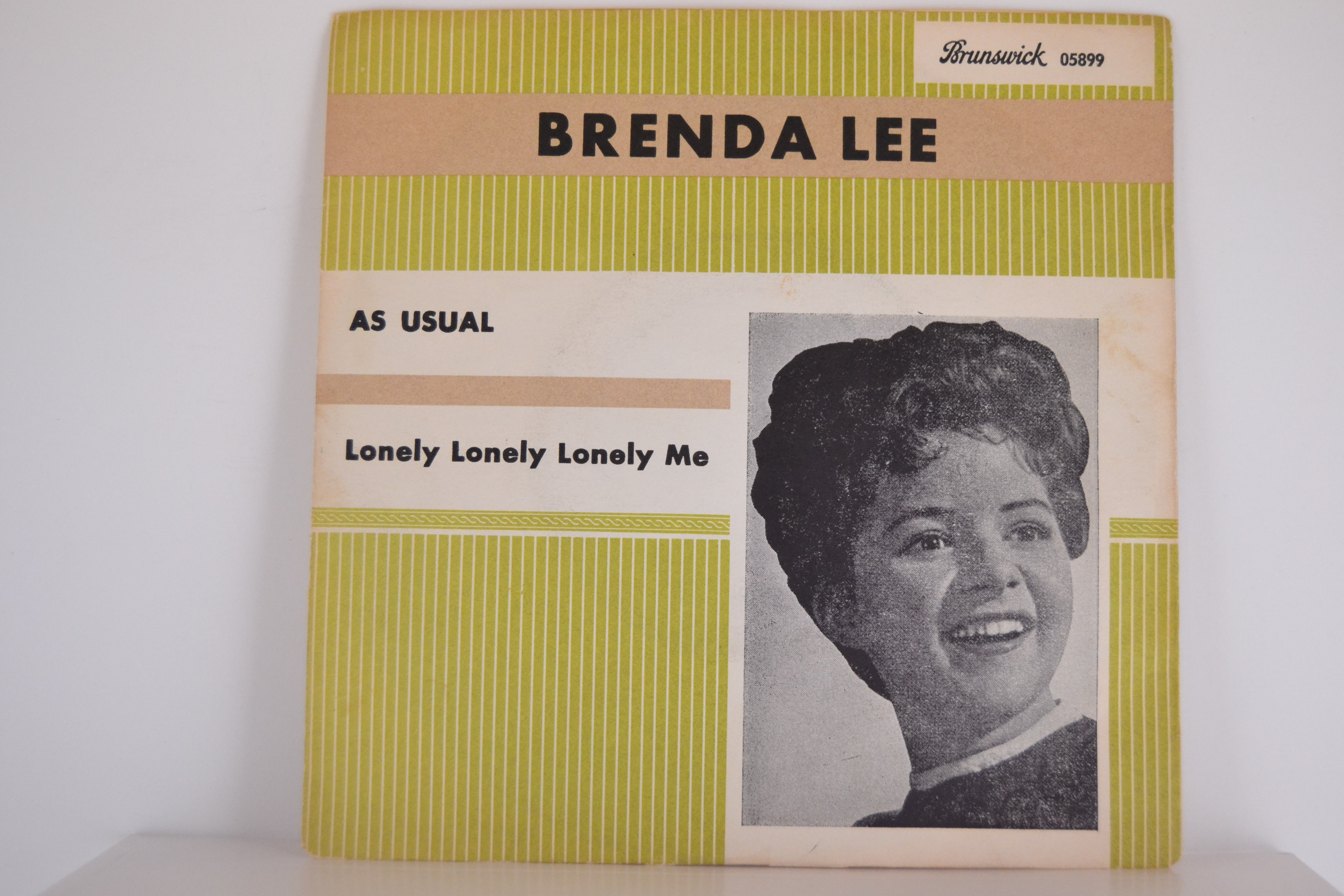 BRENDA LEE : As usual / Lonely lonely lonely me