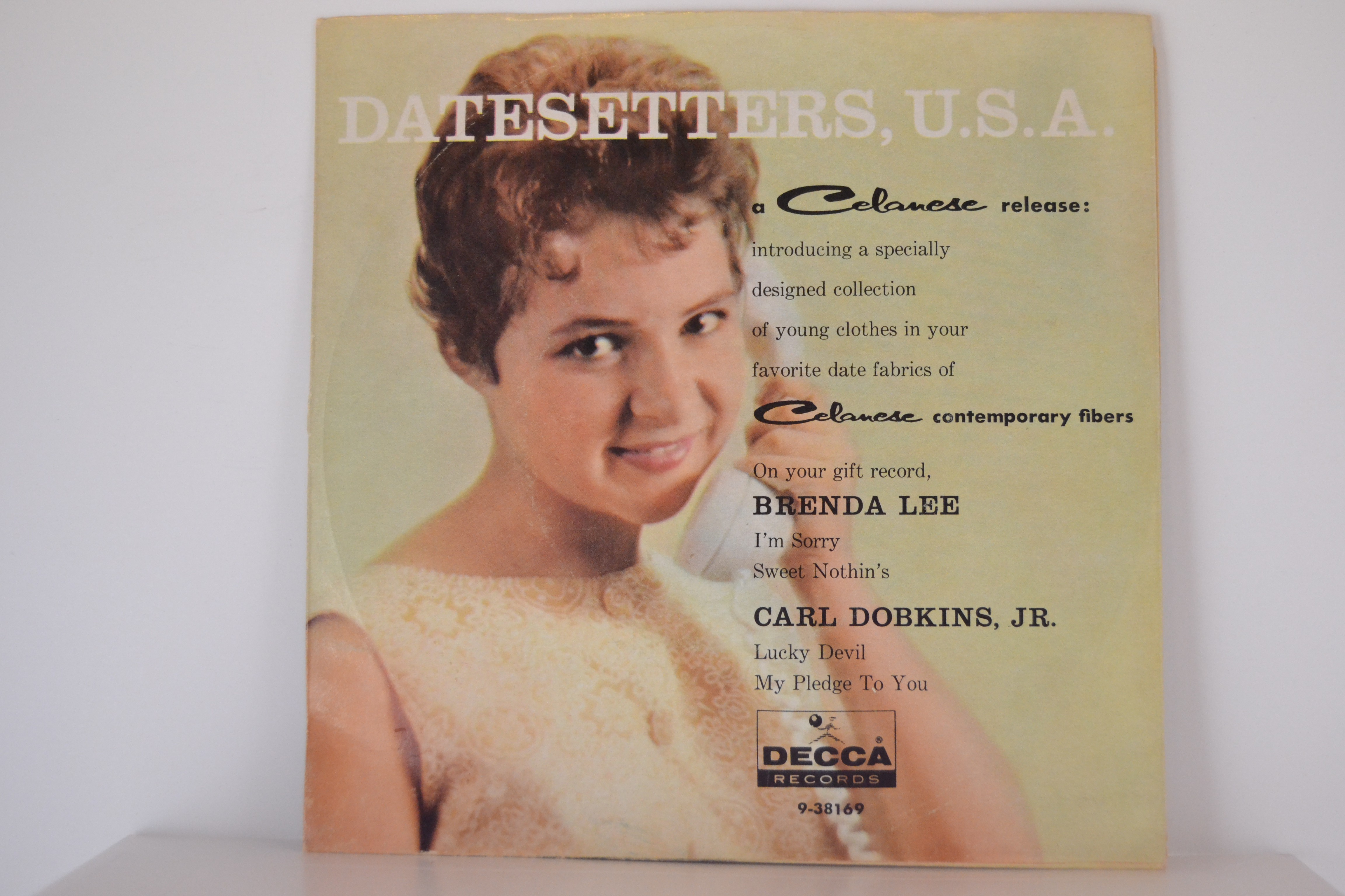 BRENDA LEE : (EP)  Sweet nothin's / I'm sorry / CARL DOBKINS JR.: Lucky devil / My pledge to you