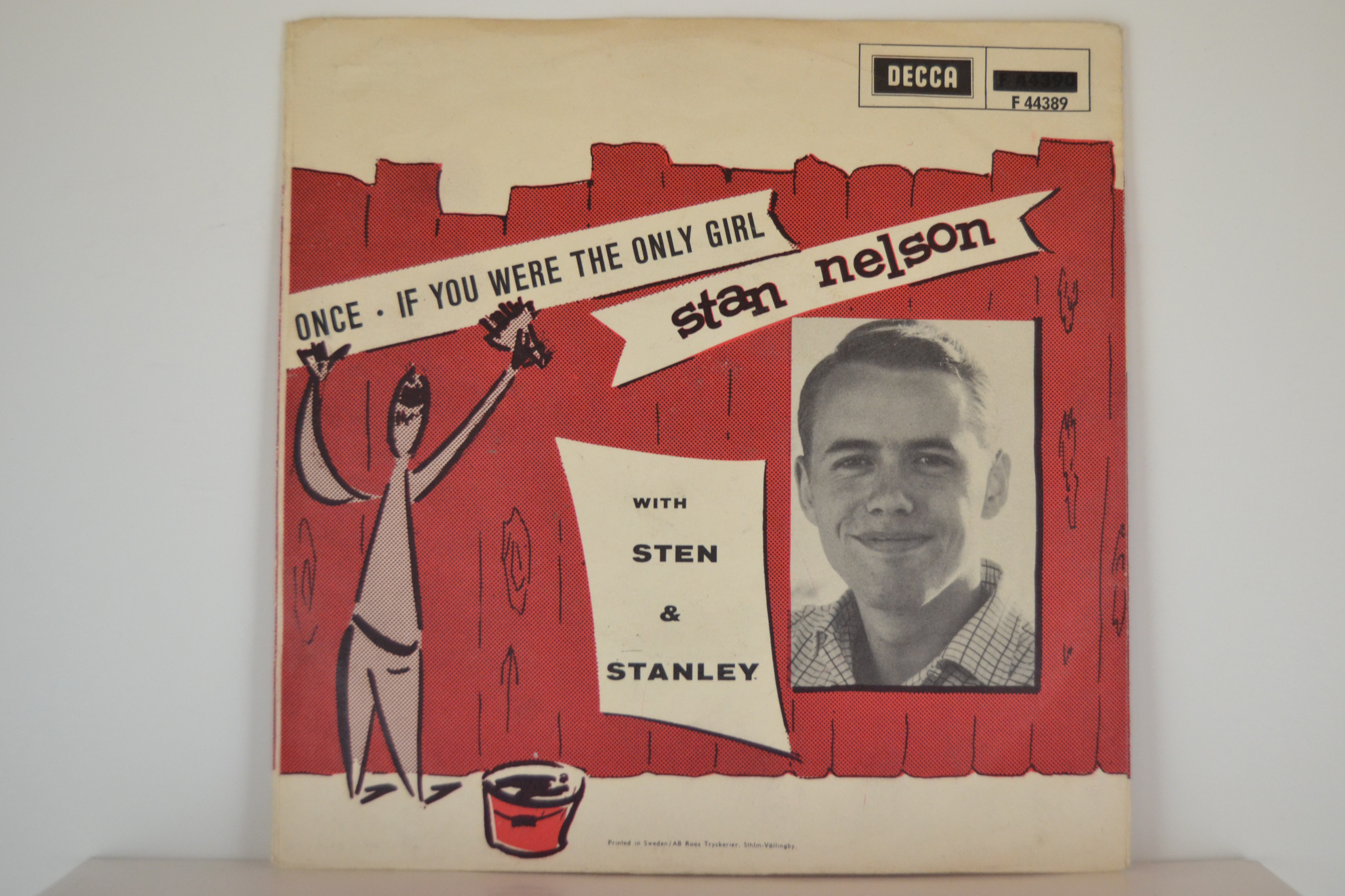 STEN NILSSON & STEN & STANLEY (som STAN NELSON) : Once / If you were the only girl