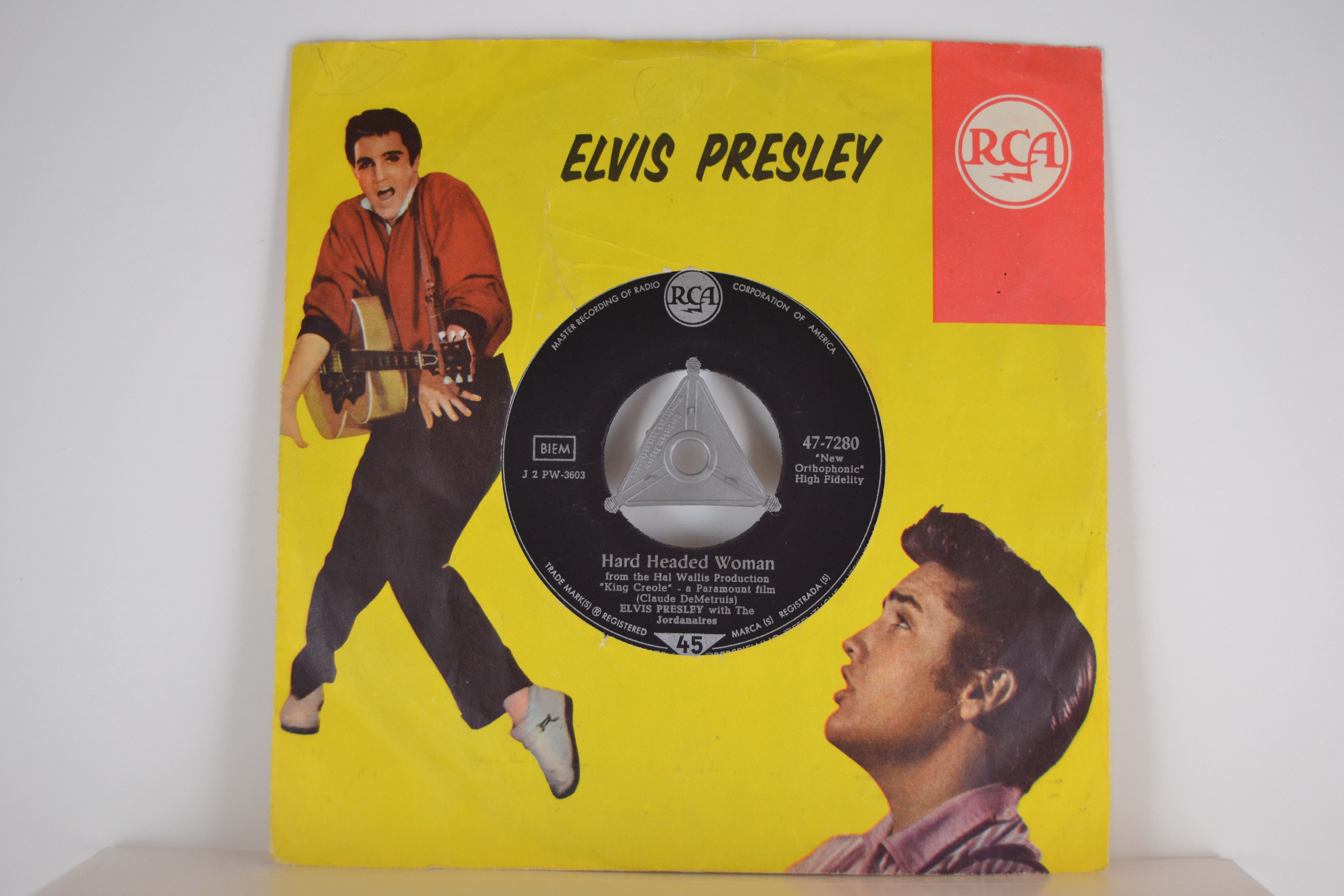 ELVIS PRESLEY : Hard headed woman / Don't ask me why