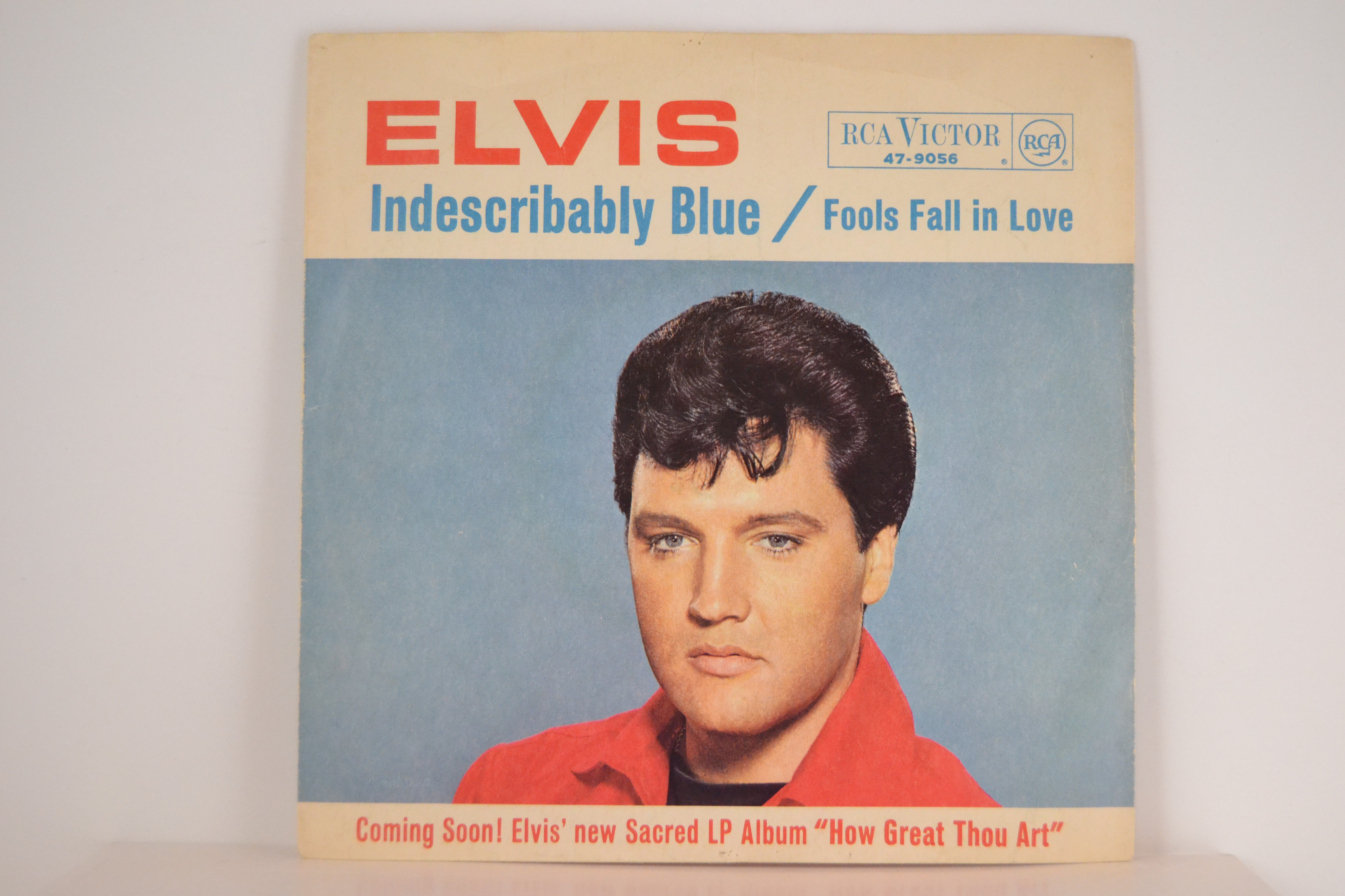 ELVIS PRESLEY : Indescribably blue / Fools fall in love