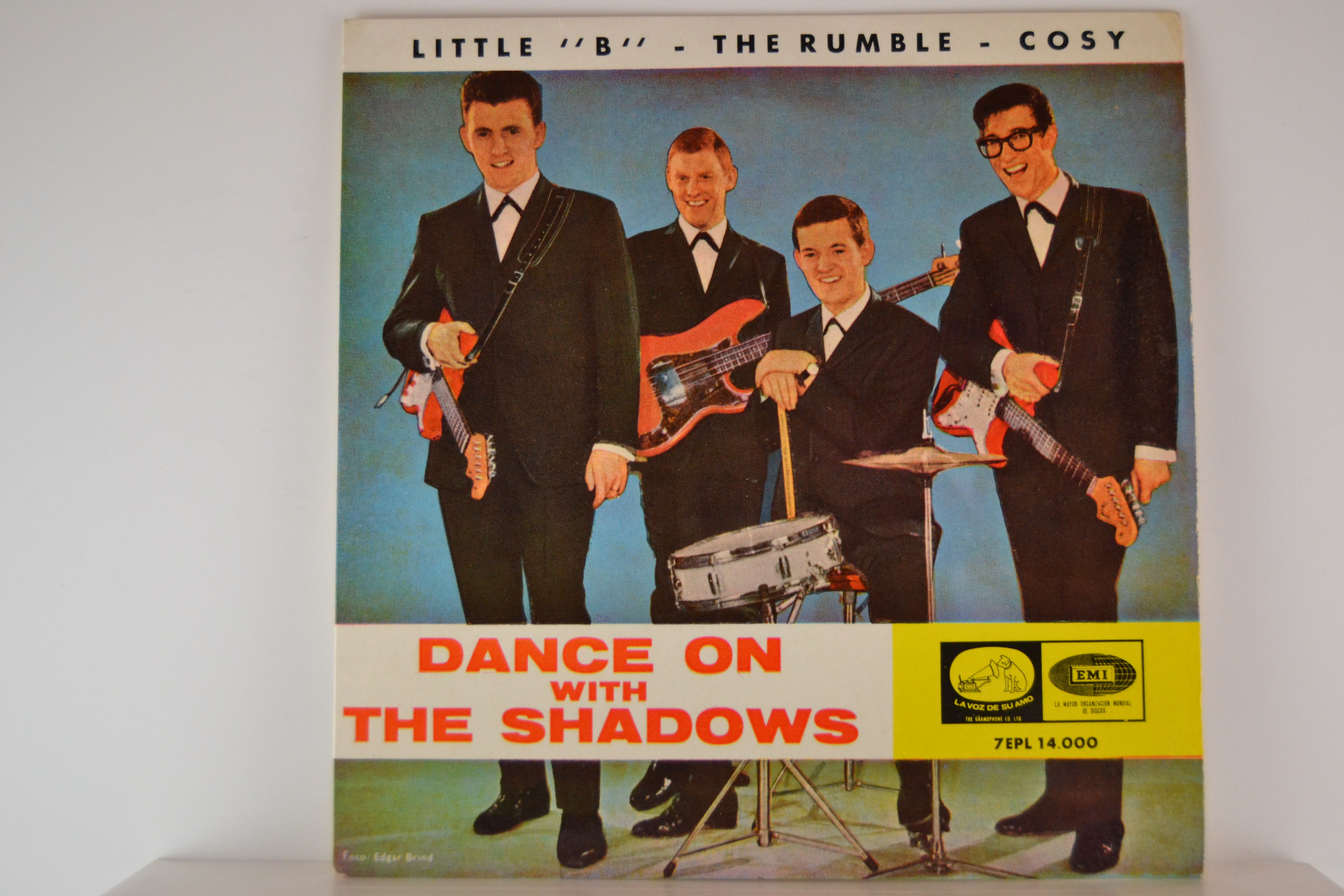 """SHADOWS The : (EP) Little """"B"""" / The ruble / Cosy"""