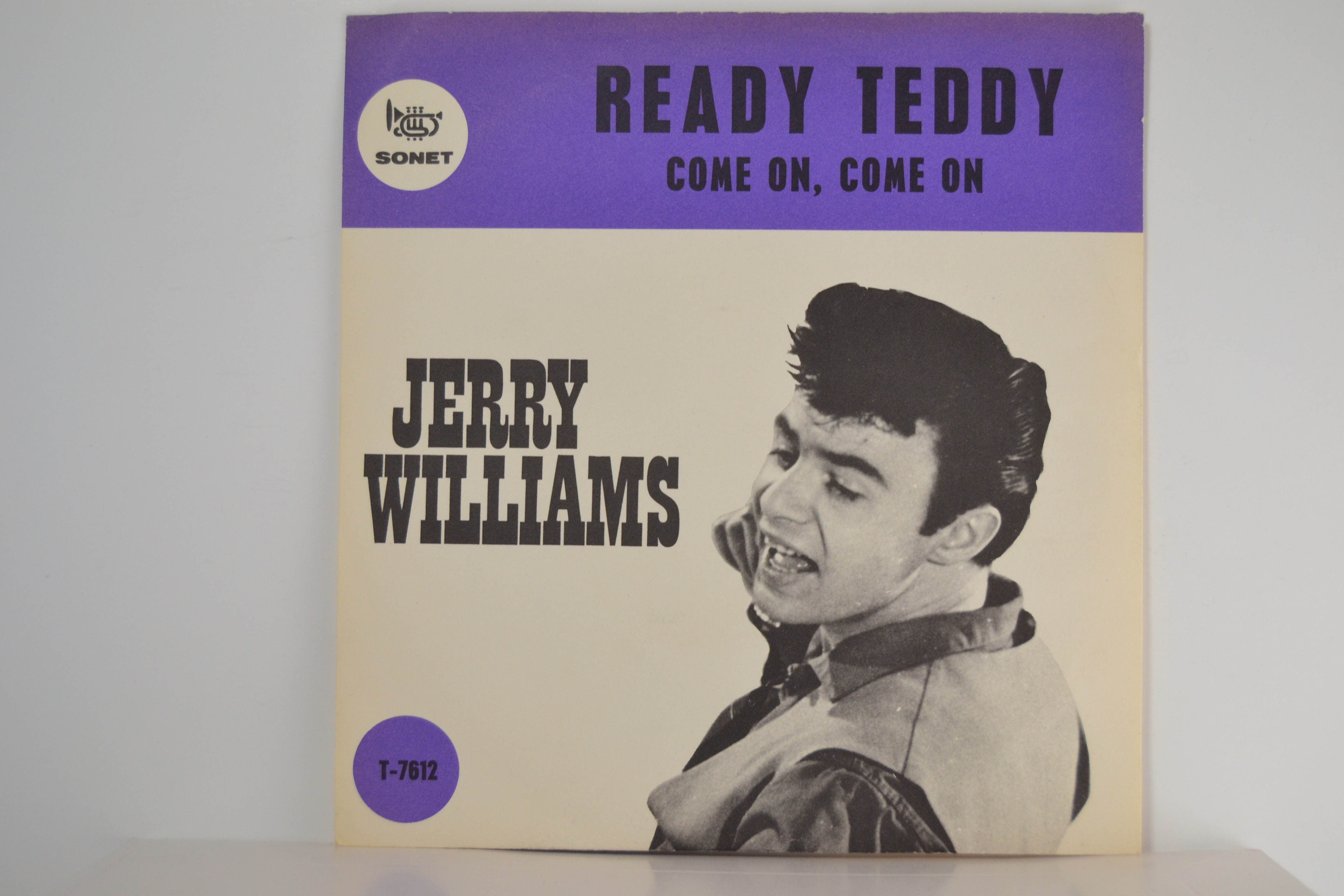 JERRY WIILIAMS : Ready Teddy / Come on, come on
