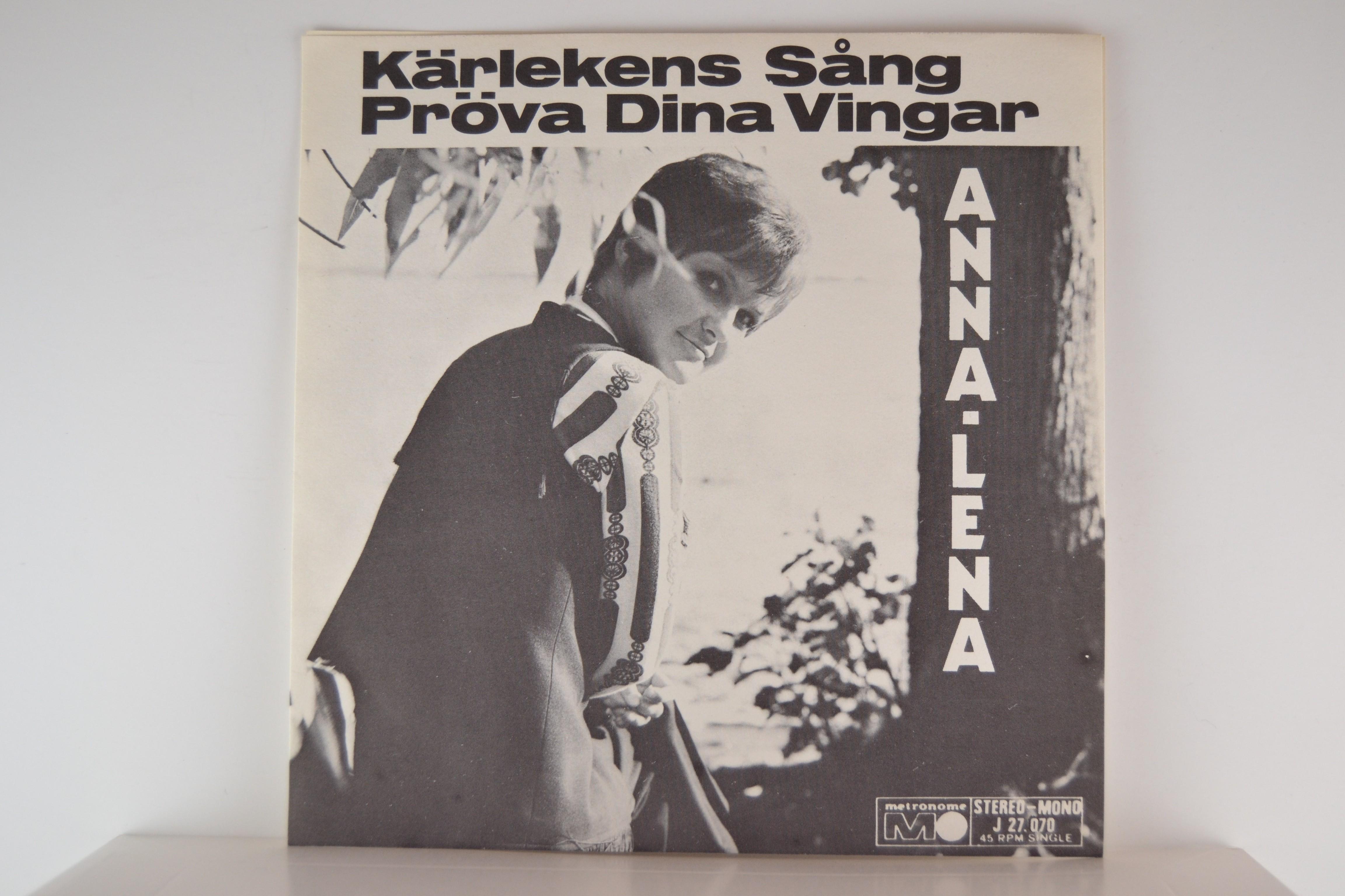 ANNA-LENA LÖFGREN : Kärlekens sång / Pröva dina vingar