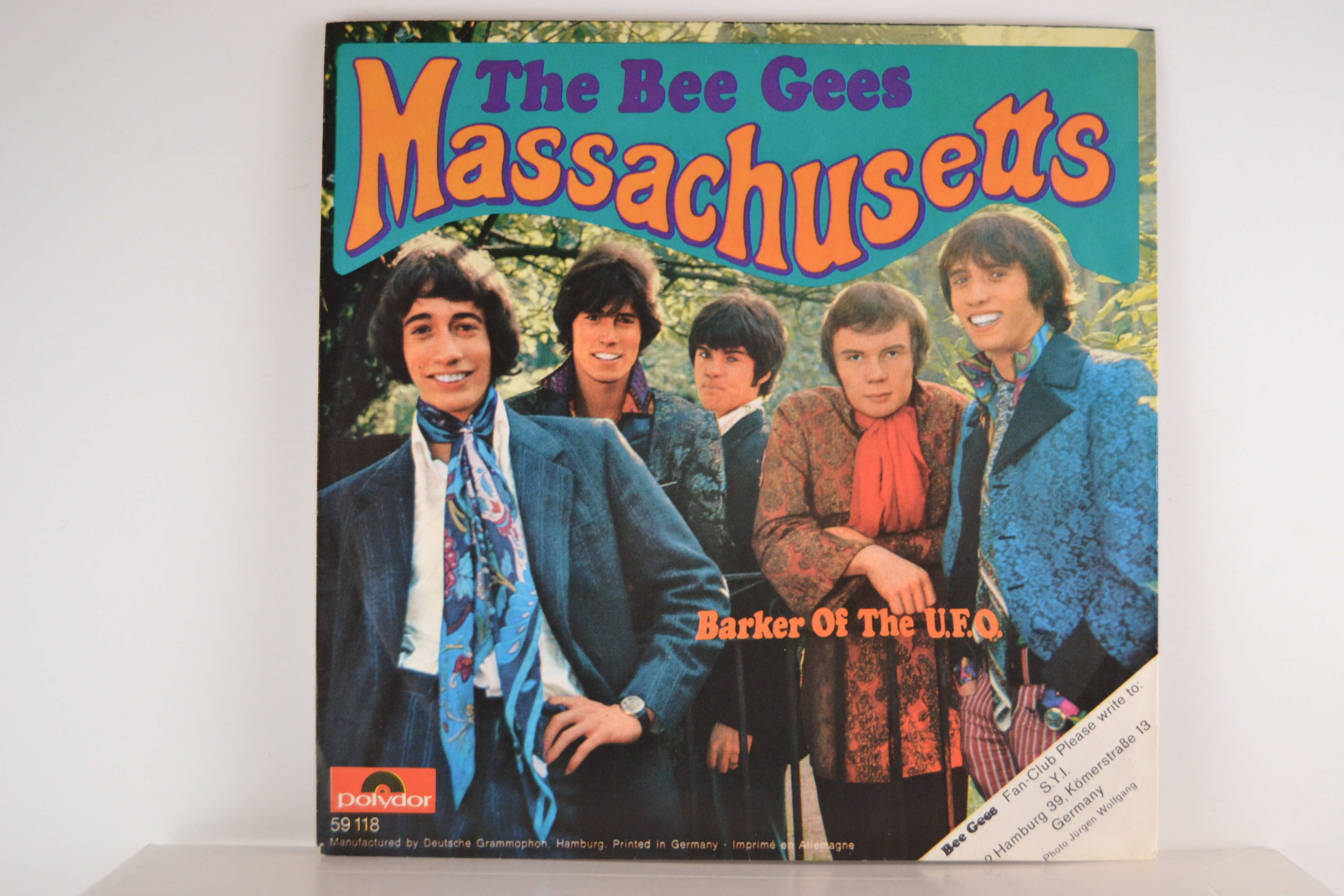 BEE GEES : Massachusetts / Barker of the U.F.O.