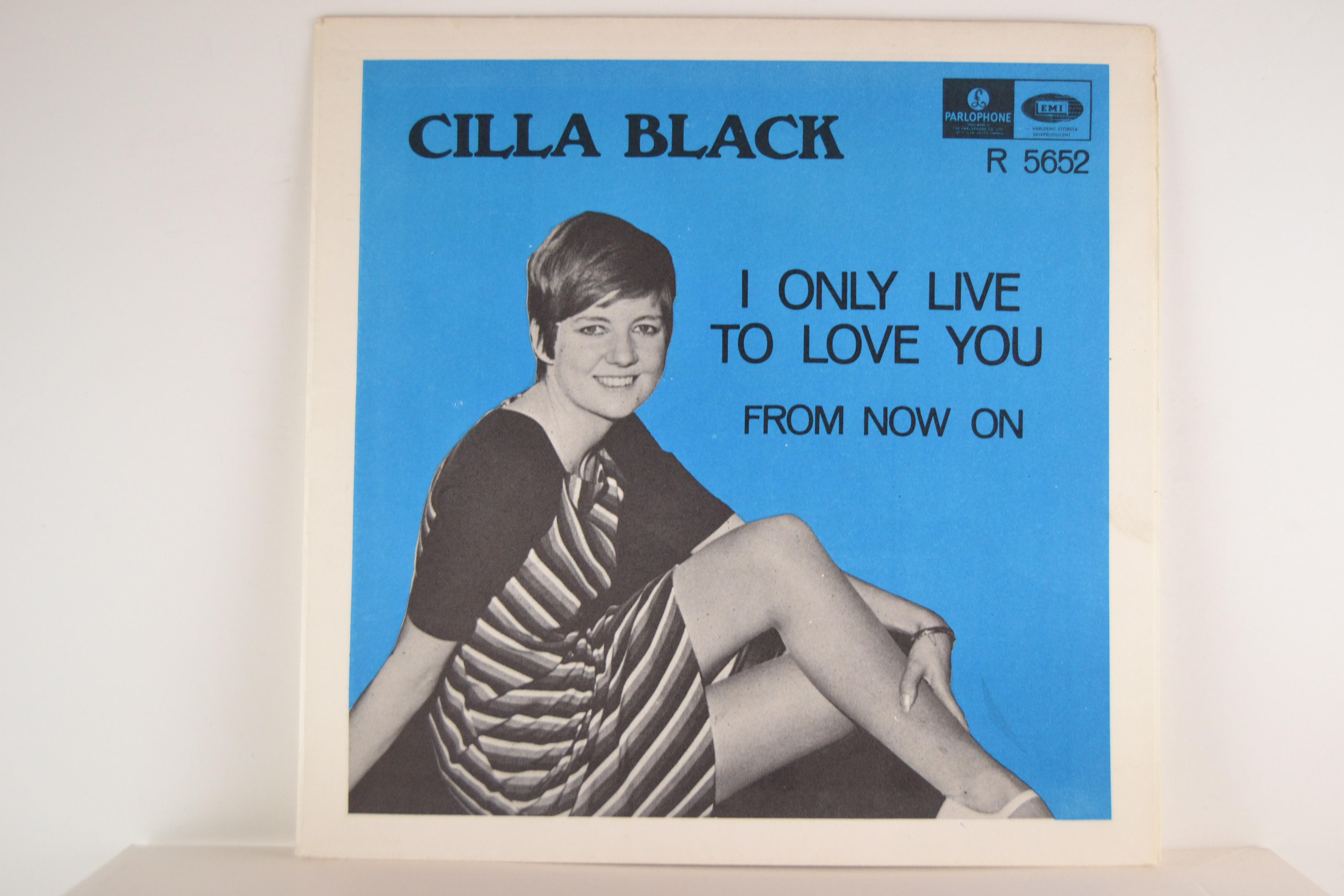 CILLA BLACK : I only live to love you / From now on