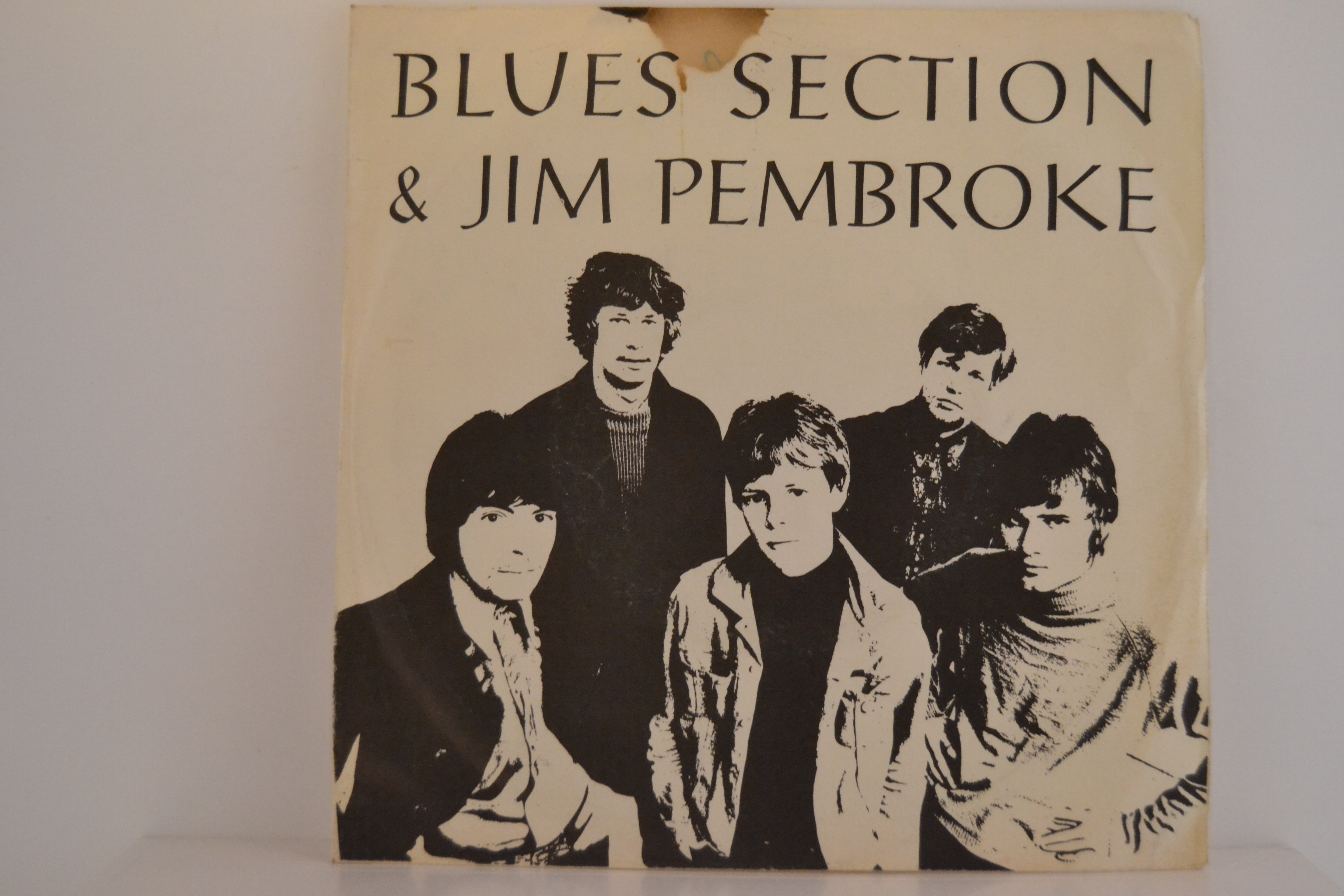 BLUES SECTION & JIM PEMBROKE (ex Jormas) : Call me on your telephone / Only dreaming