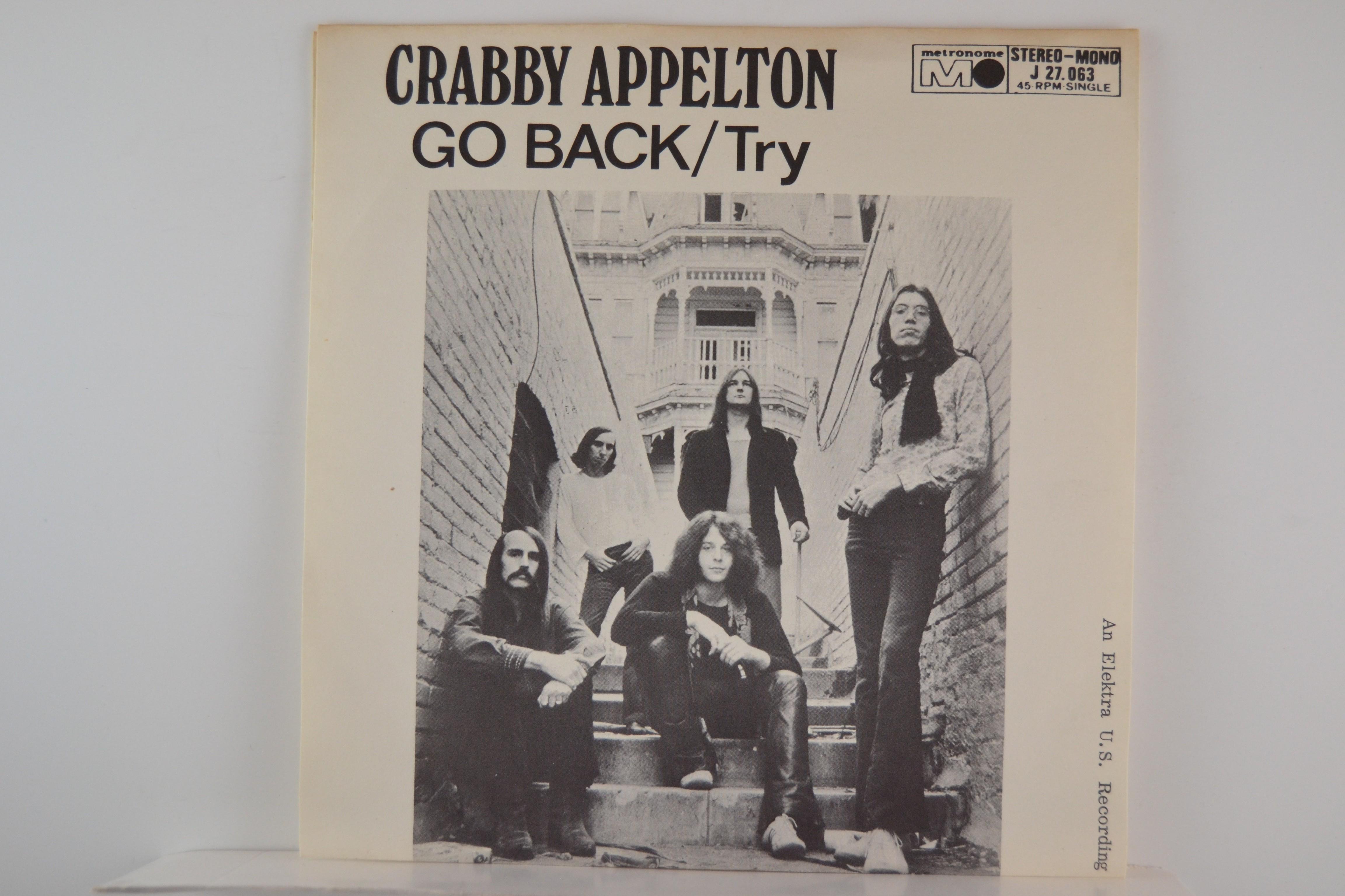 CRABBY APPELTON : Go back / Try