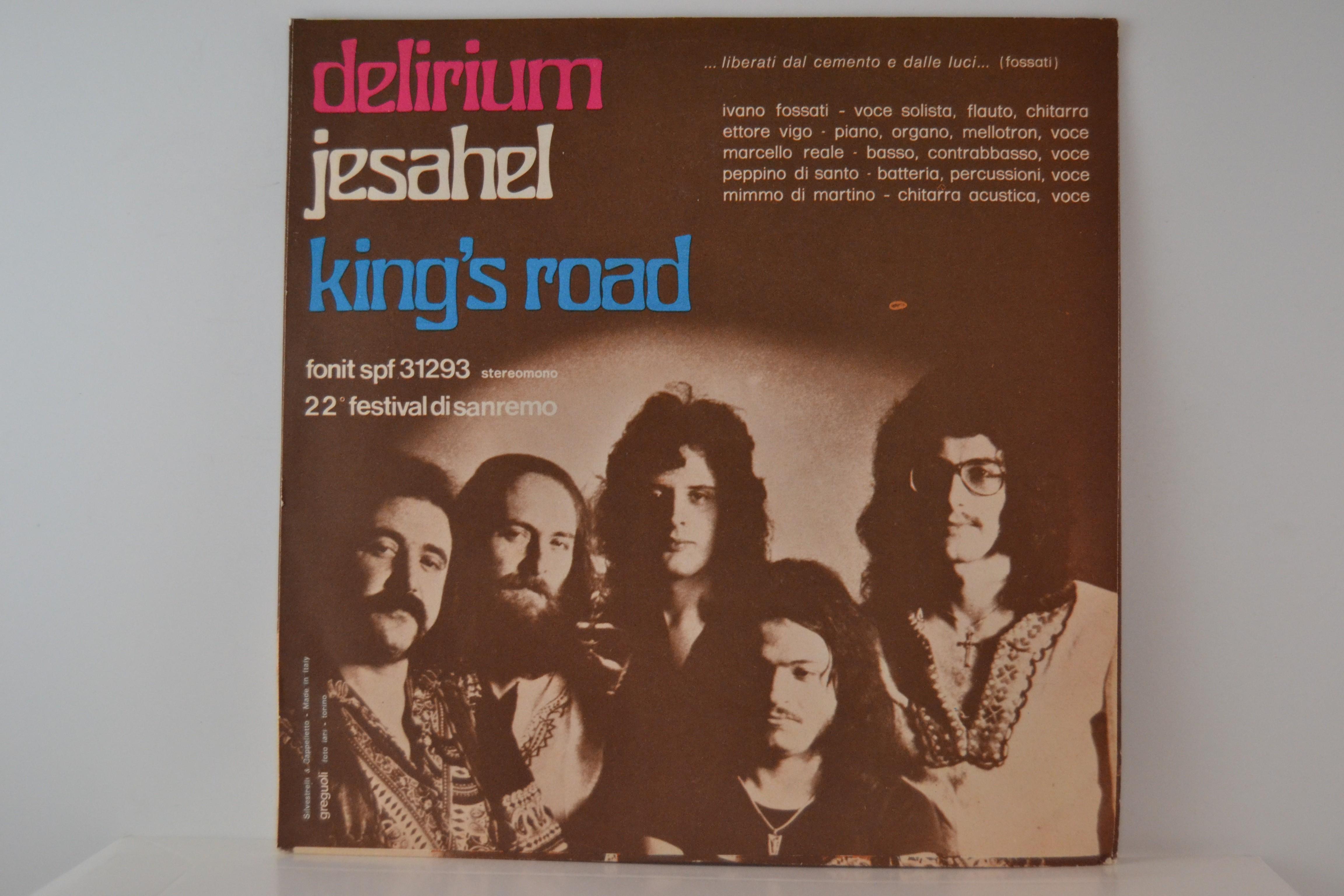 DELIRIUM : King's road / Jesahel