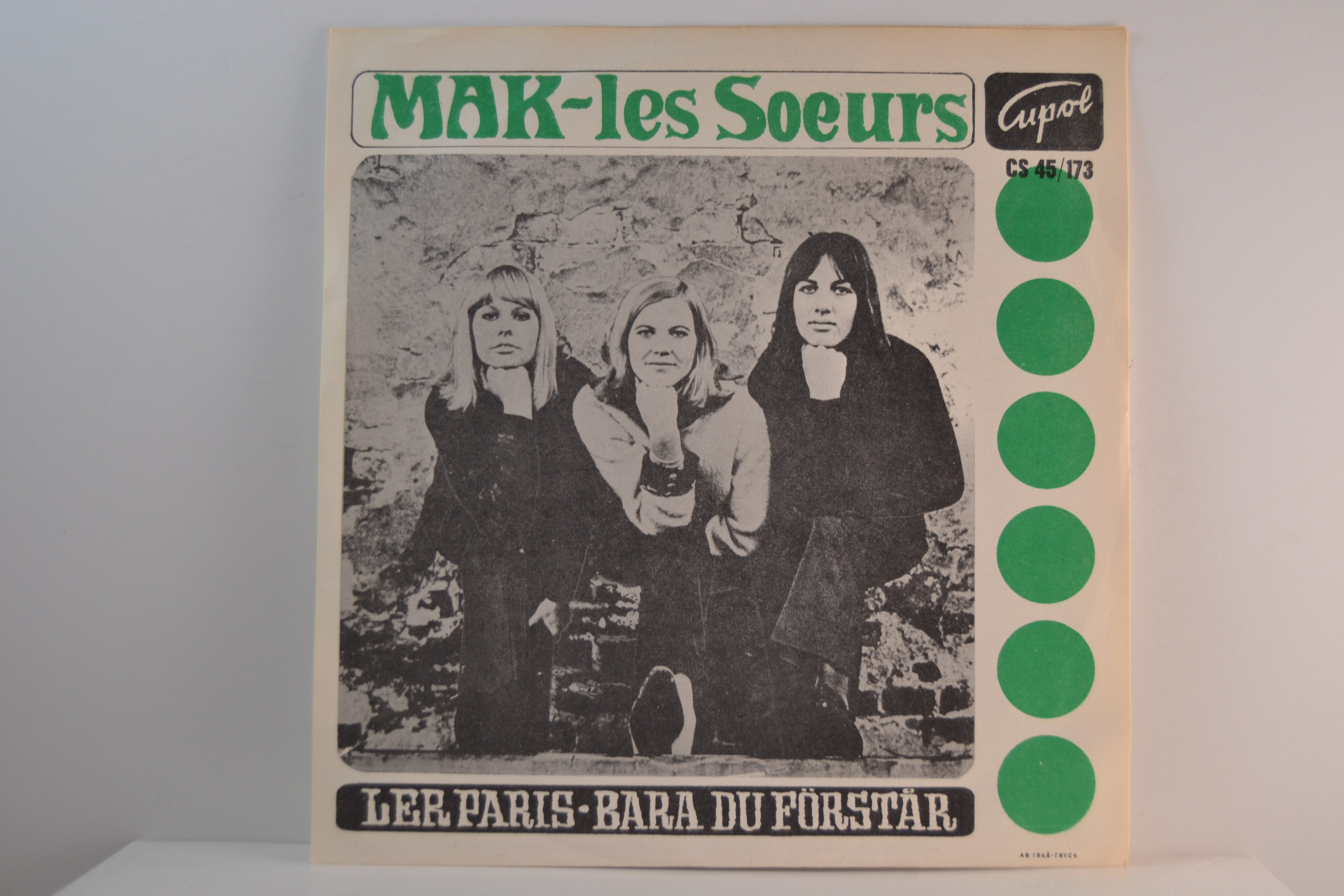 MAK-LES SOEURS : Ler Paris / Bara du förstår