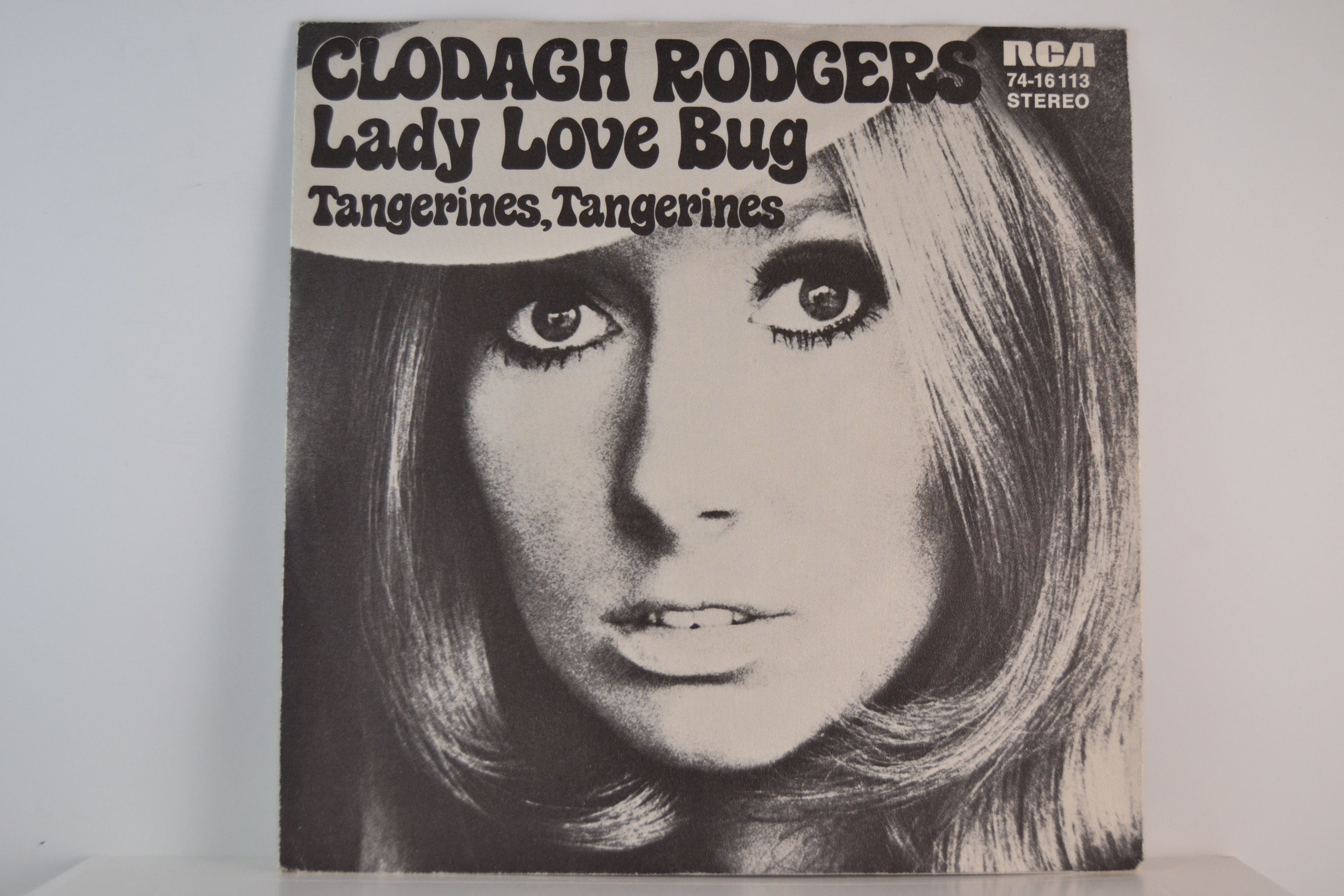CLODAGH RODGERS : Lady love bug / Tangerines, tangerines