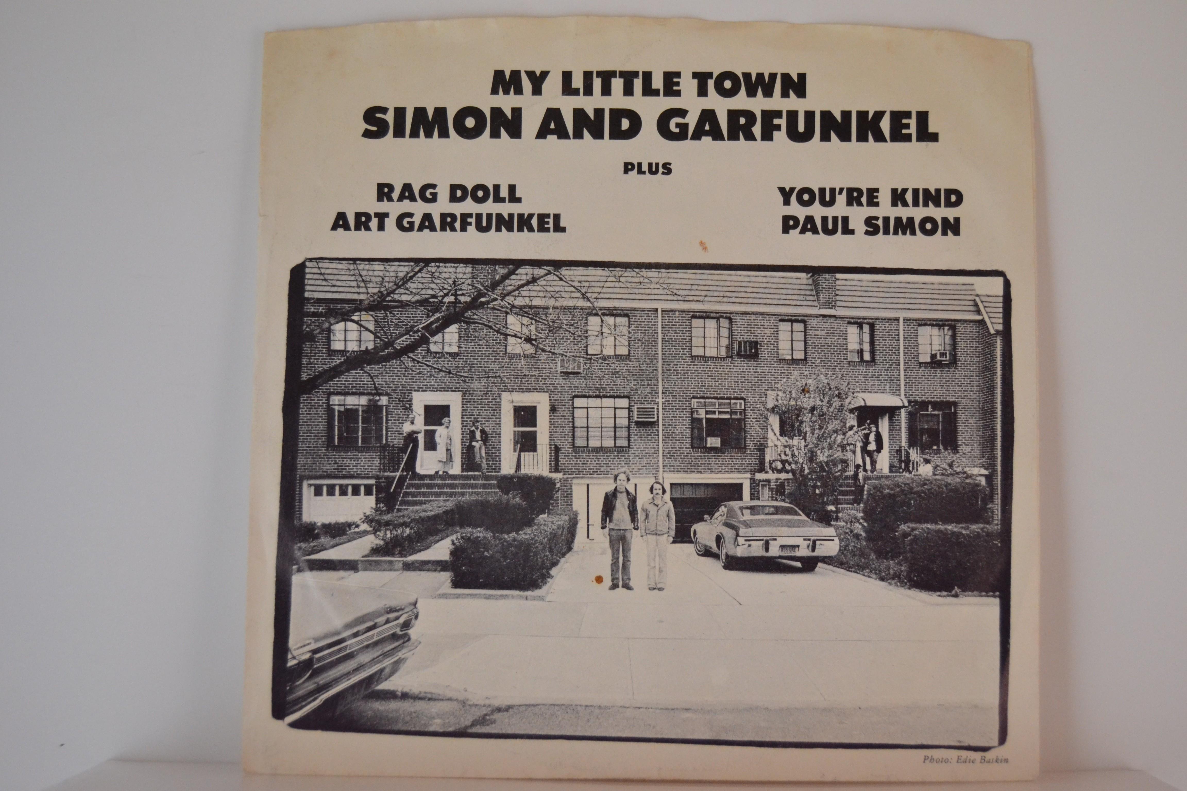 SIMON & GARFUNKEL : My little town / Rag doll / You're kind