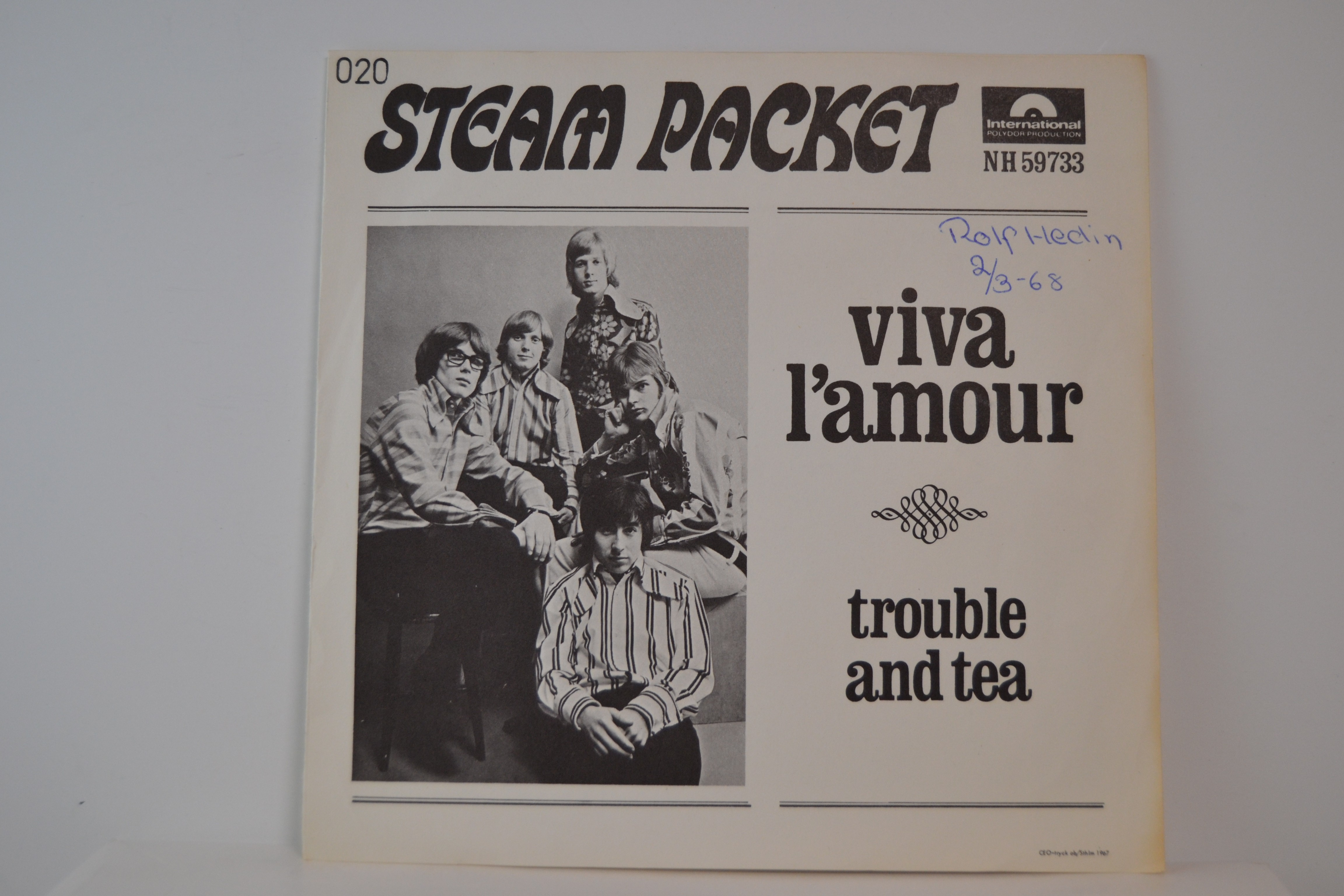 STEAMPACKET : Trouble and tea / Viva l'amour