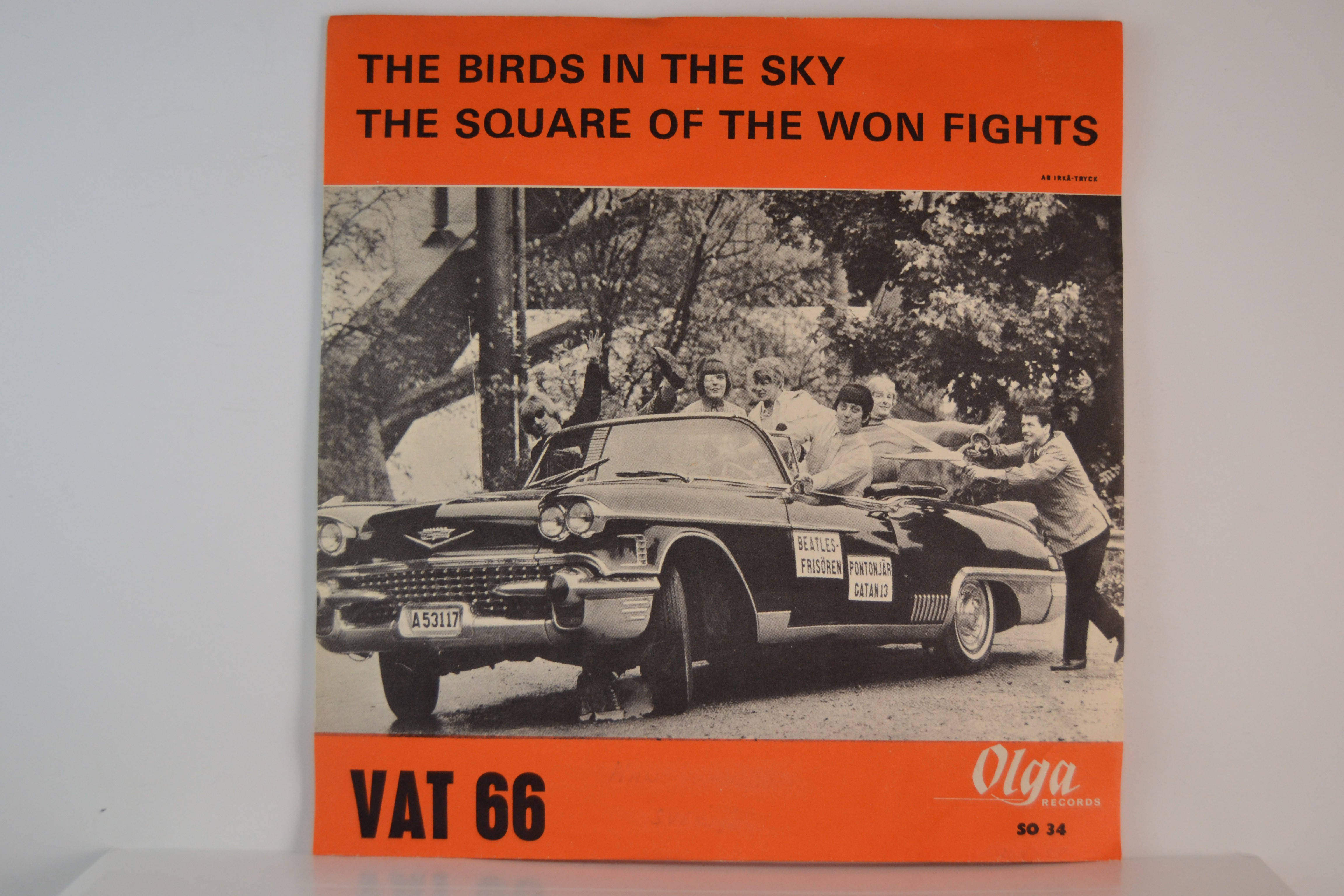 VAT 66 : The birds in the sky / The square of the won fights