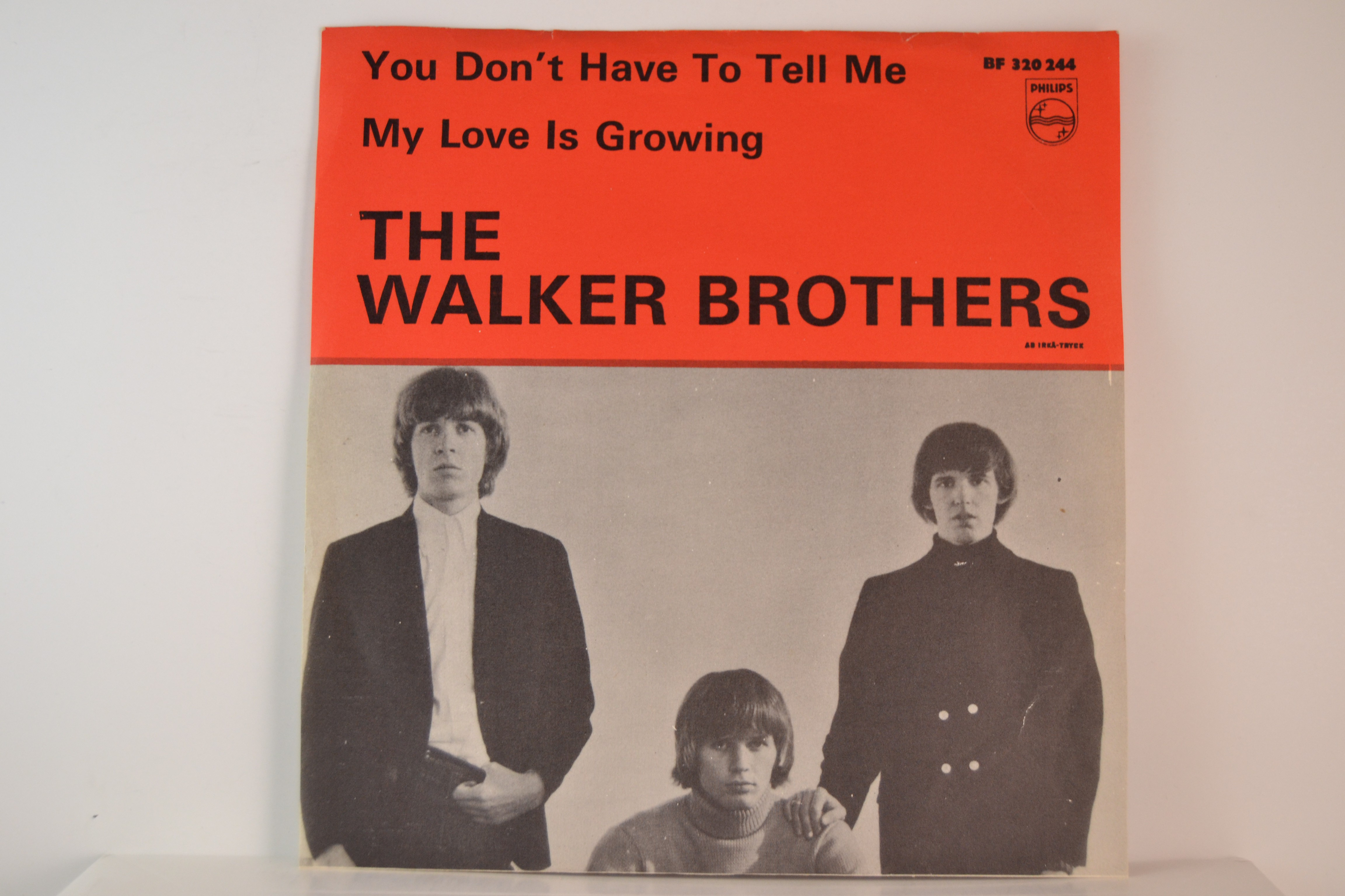 WALKER BROTHERS : You don't have to tell me / My love is growing