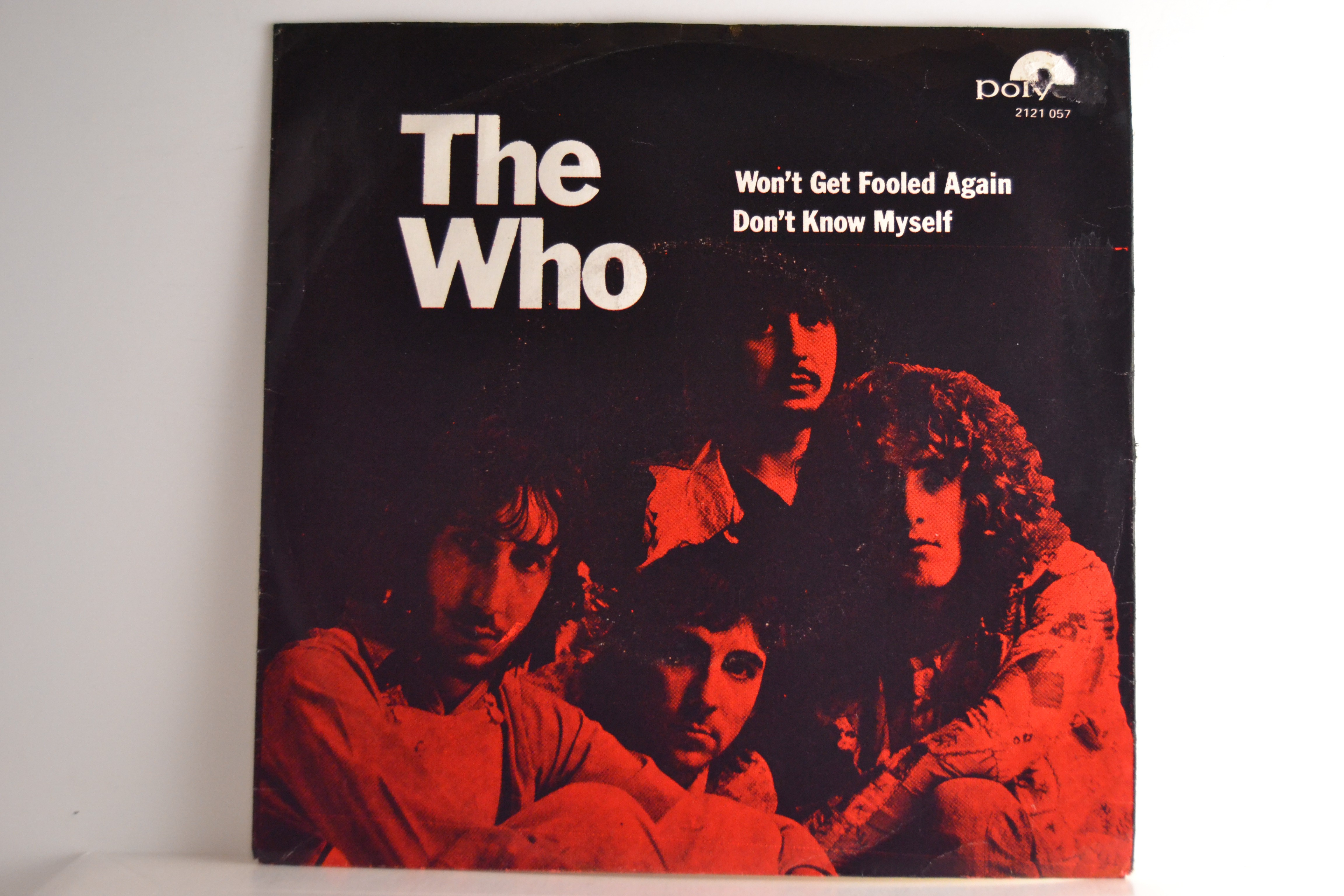 WHO  The   : Won't get fooled again / Don't know myself